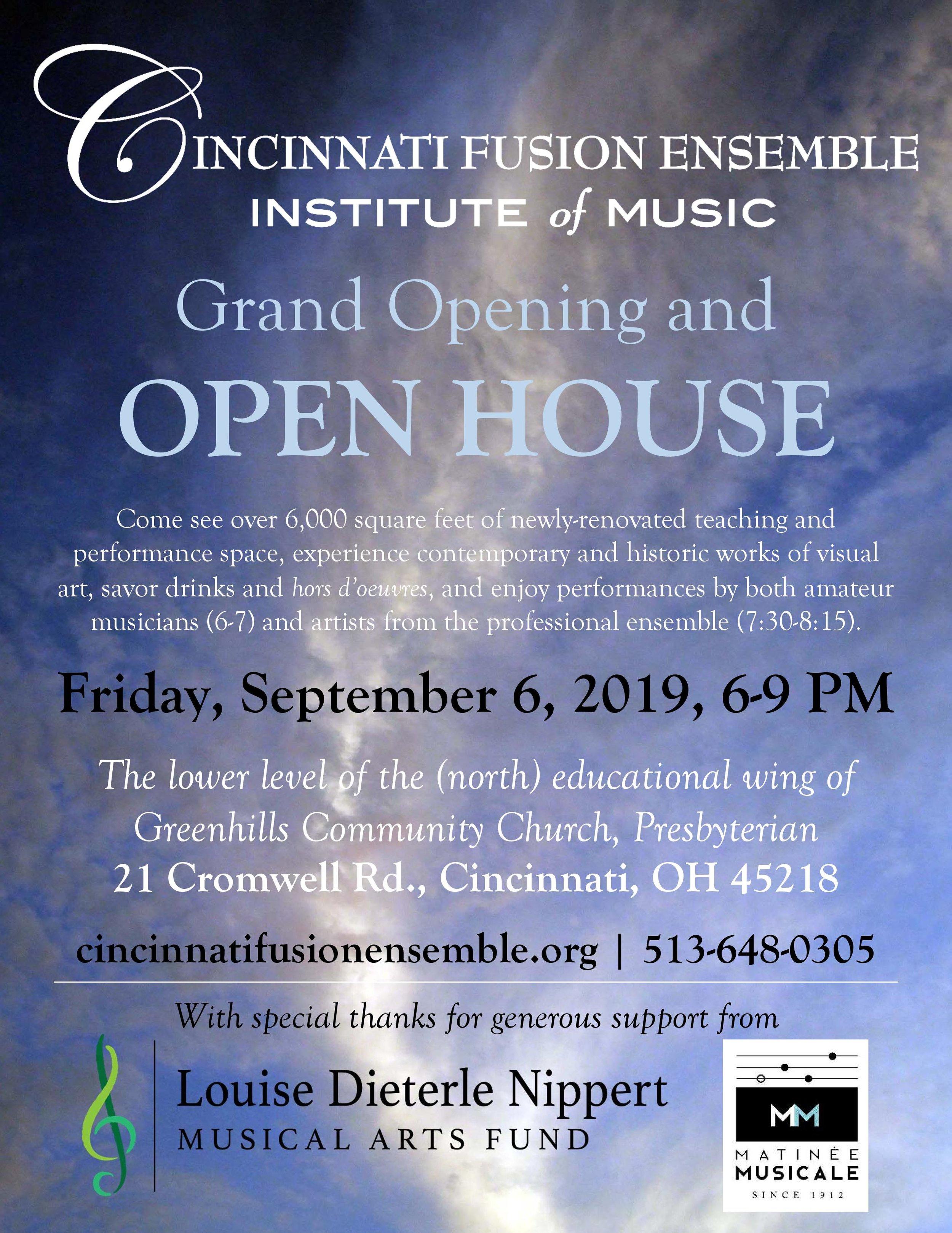 CFE Institute of Music, open house flyer, 9-6-19.jpg