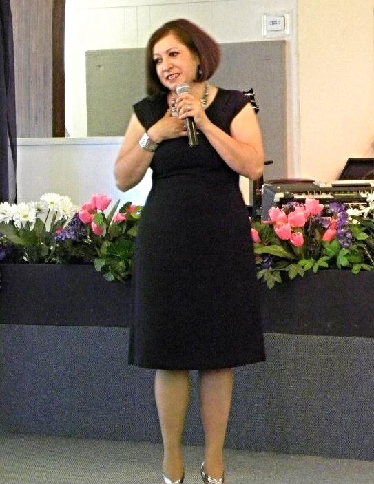 Janeth Mata. Pastora.