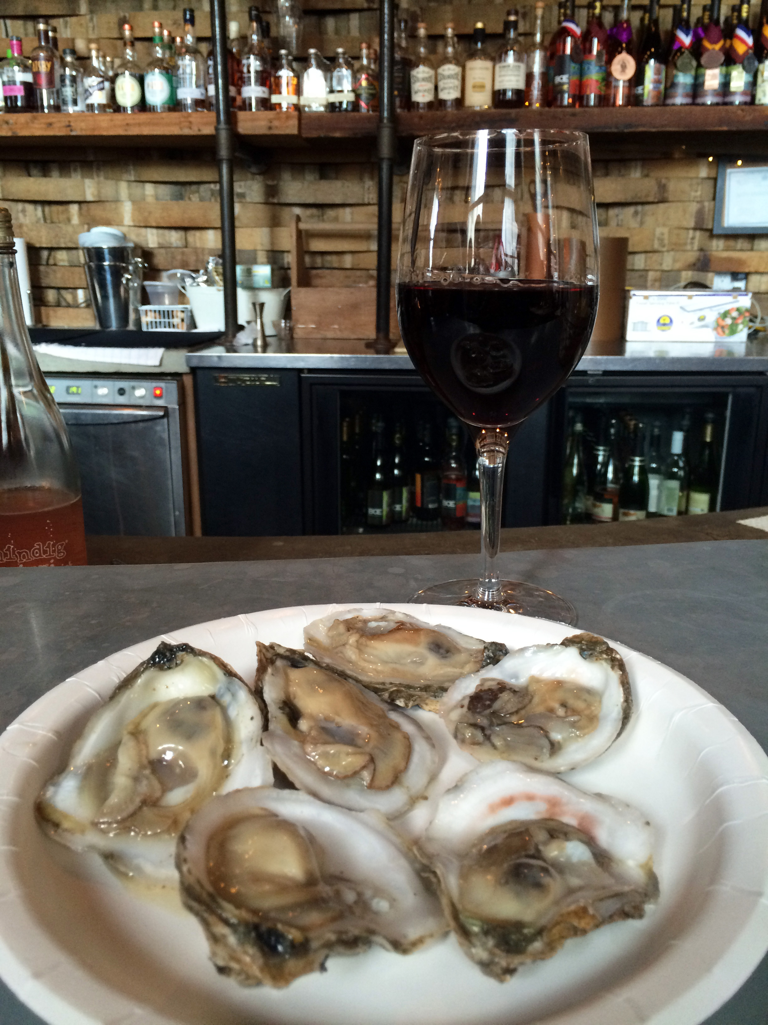 Friday happy hour at Brooklyn Oenology