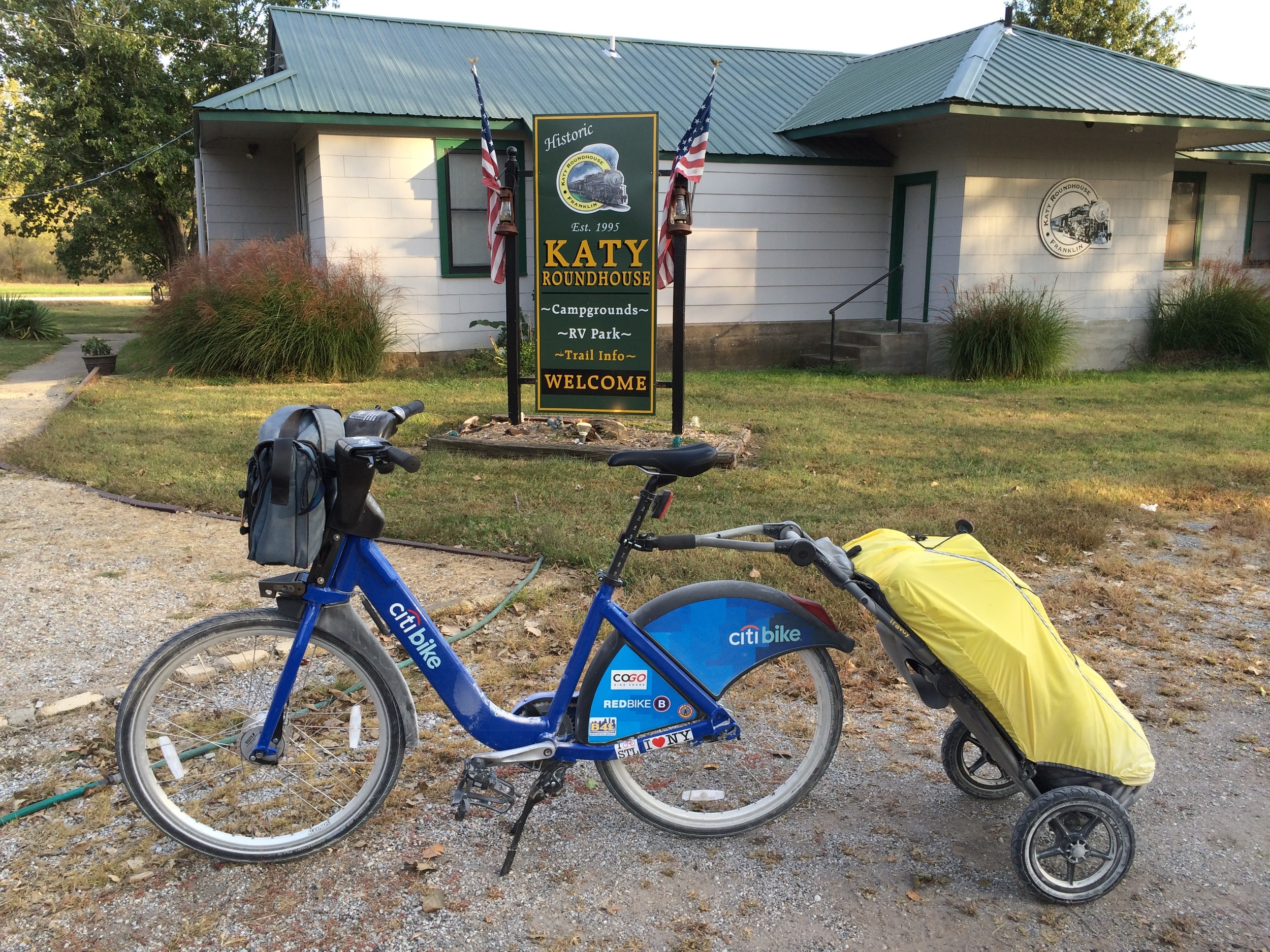 An inexpensive and well-appointed campground right on the trail.