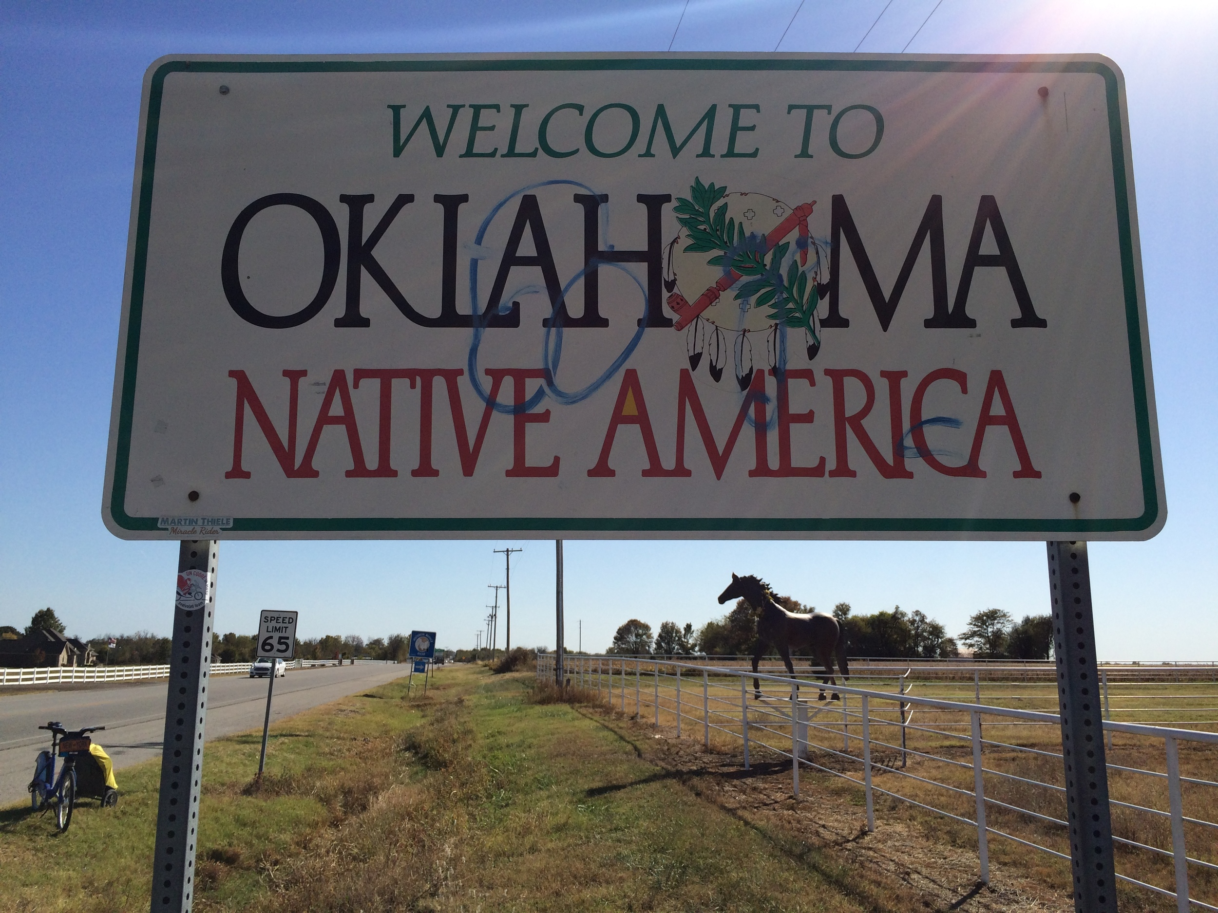 Oh hello, Oklahoma. We're gonna get along great.