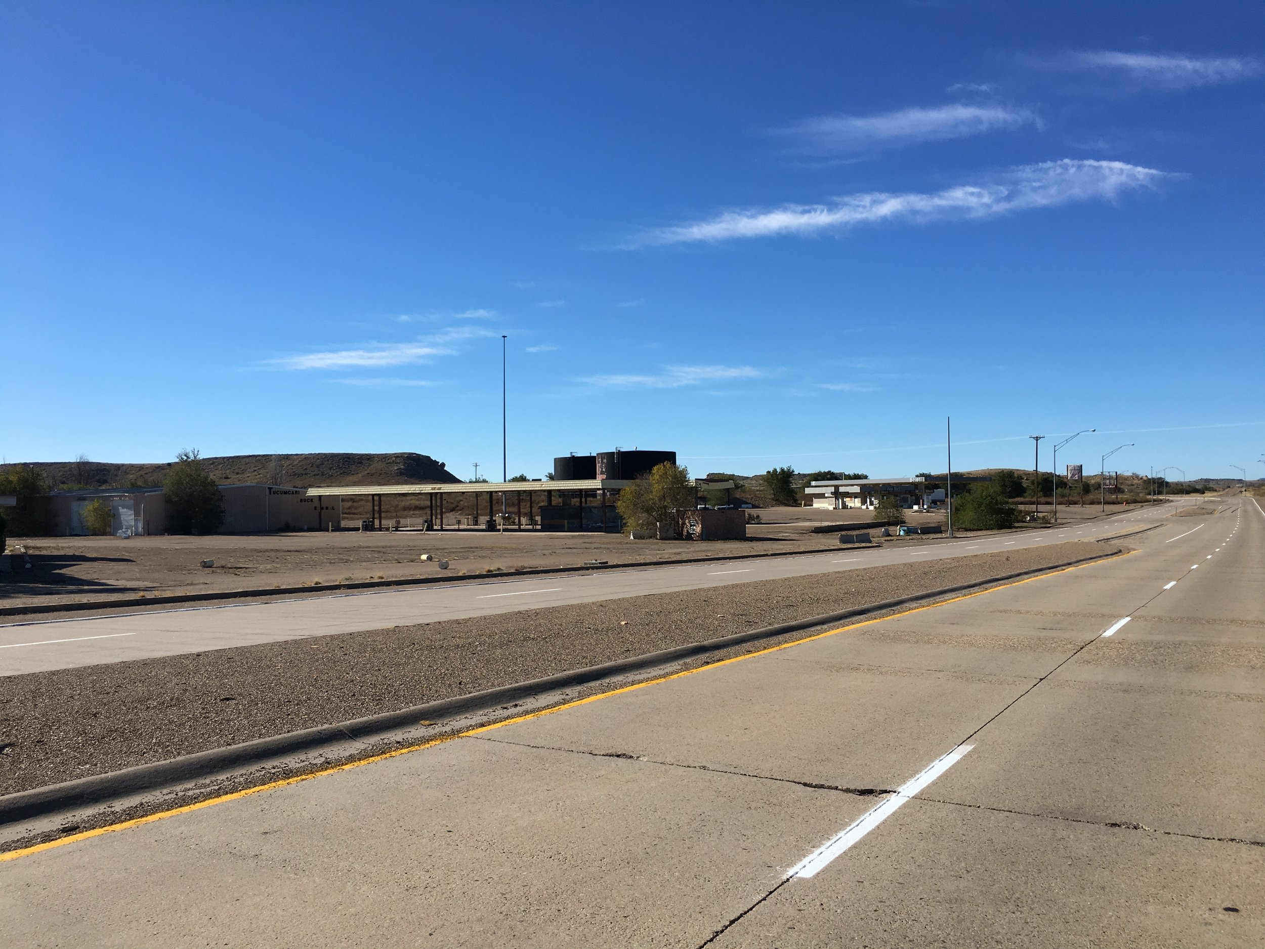 The interstate decimated Tucumcari's business strip.
