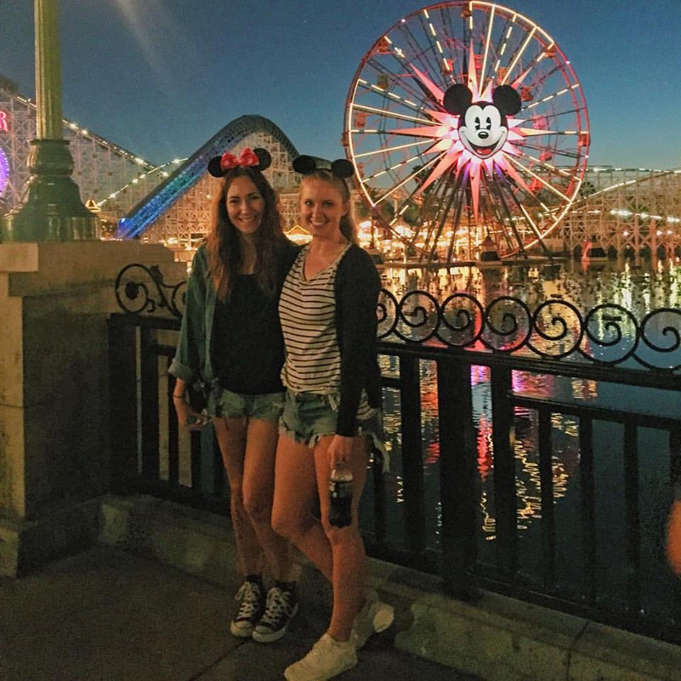 Children at large in Disneyland.