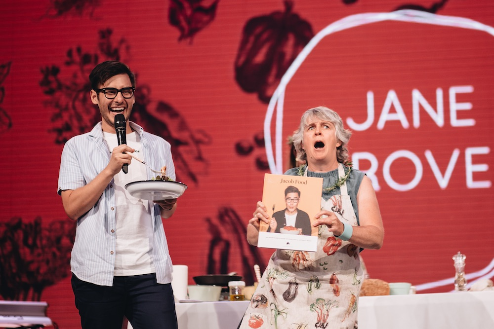 We all remember this hilarious cooking segment at the 2018 Everywoman Gathering!