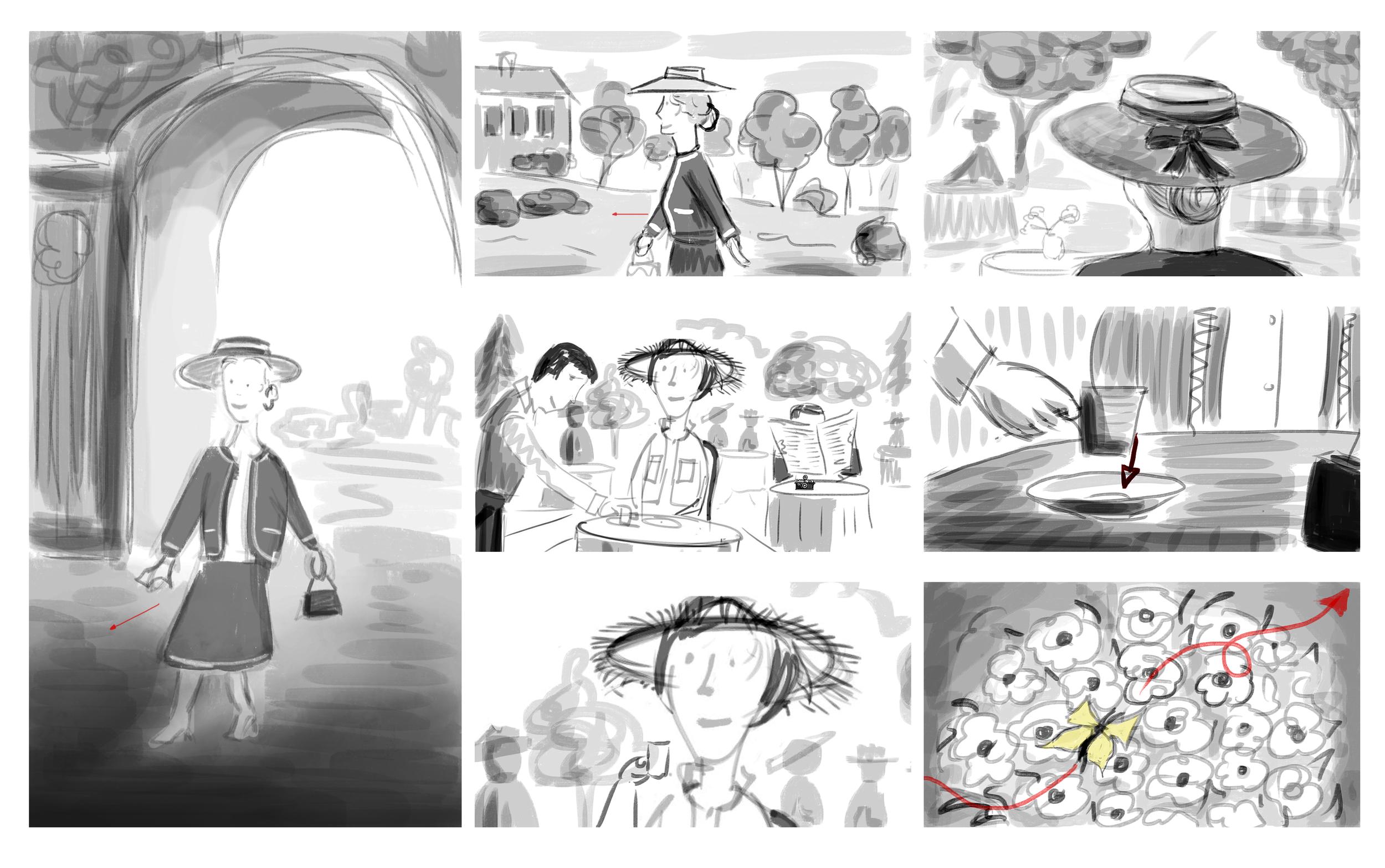 Storyboards by Feli di Giorgio