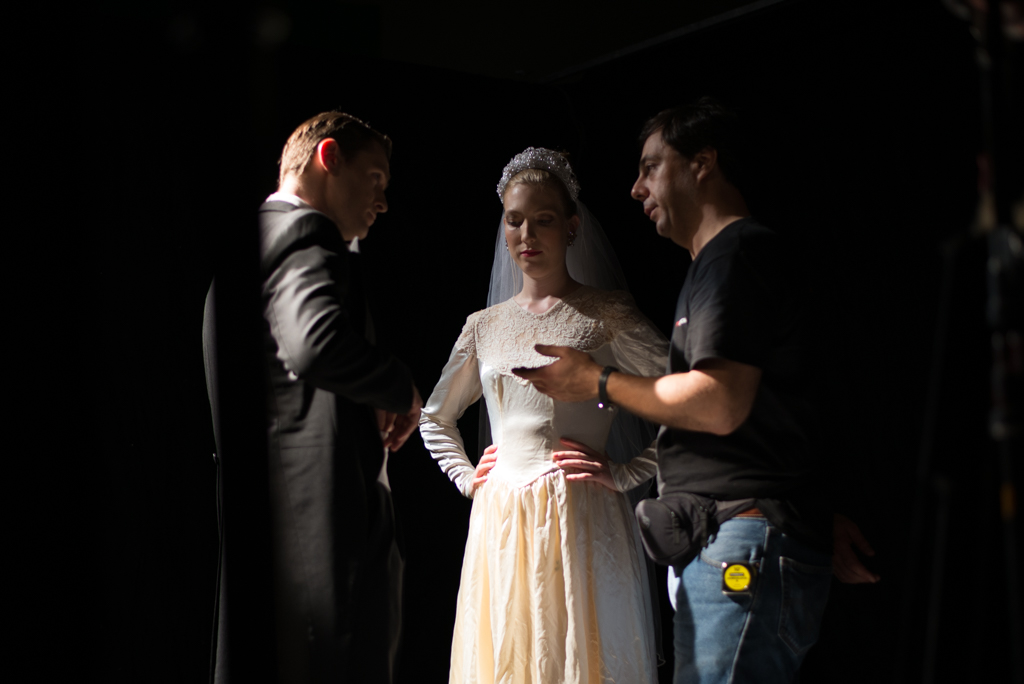 Director with actors