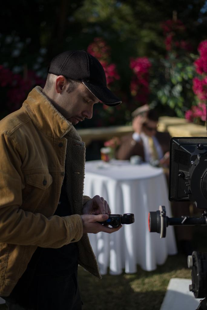 Director of cinematography Aymeric Montouchet