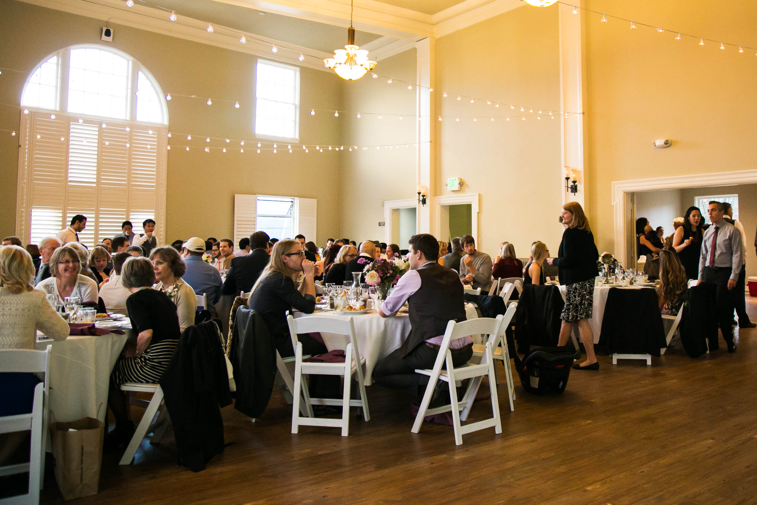 Wedding reception | The Hall at Greenlake Wedding Reception Photo | By G. Lin Photography