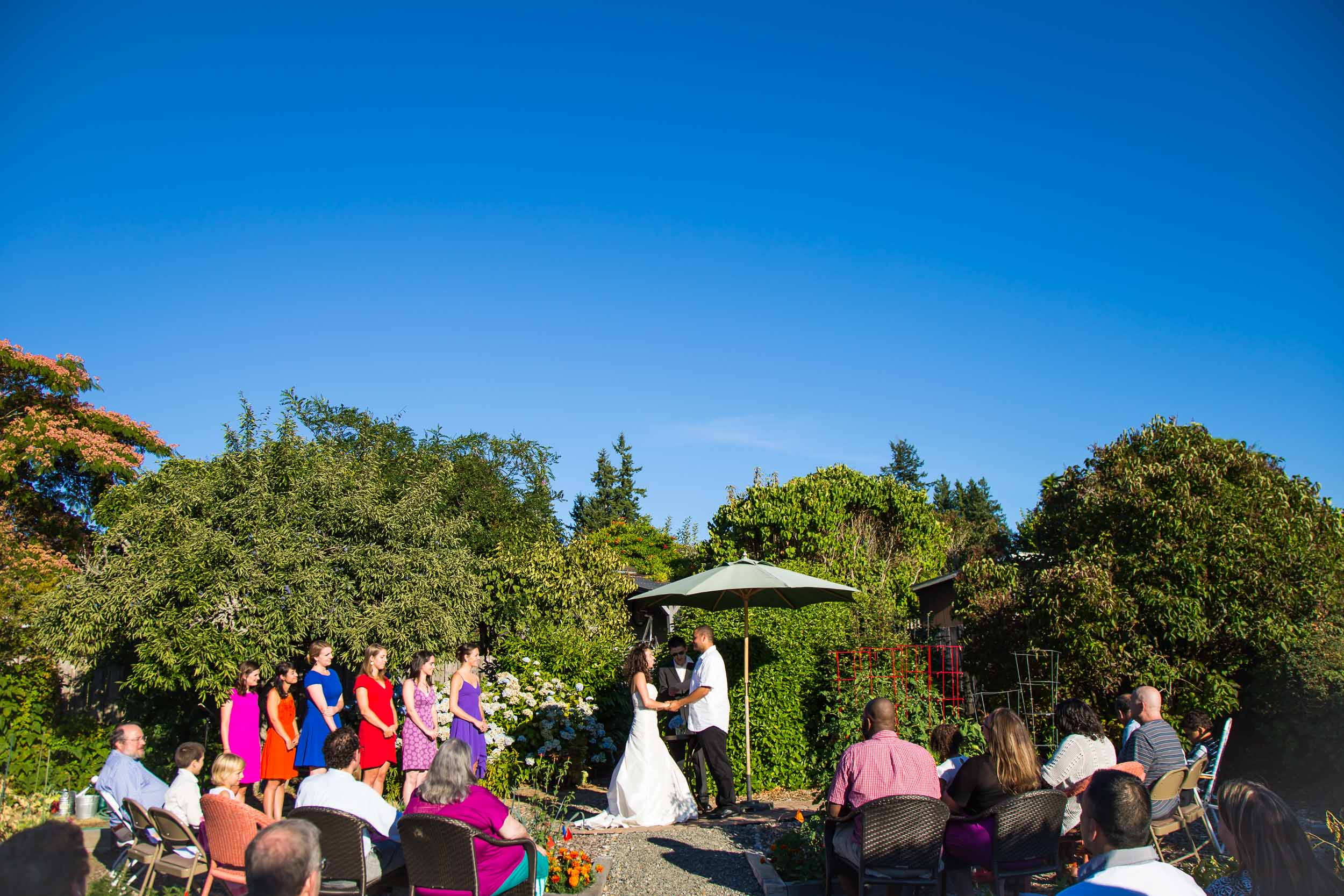 Seattle Garden Wedding Photography | By G. Lin Photography