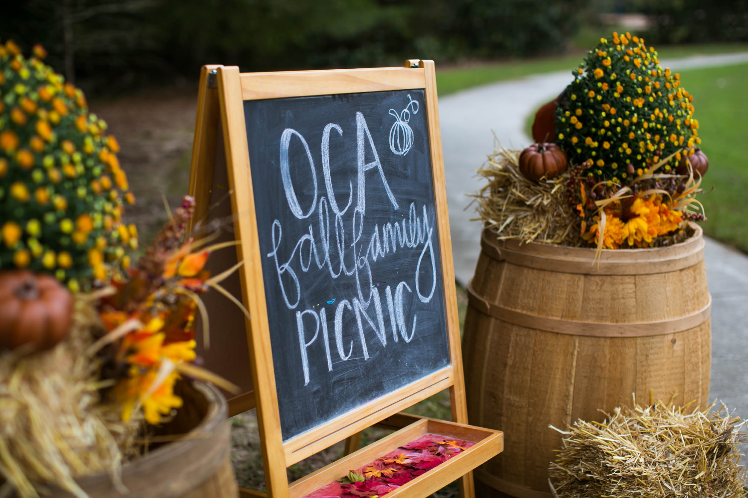 Raleigh Family Photographer | G. Lin Photography | Sign in front of entrance of event