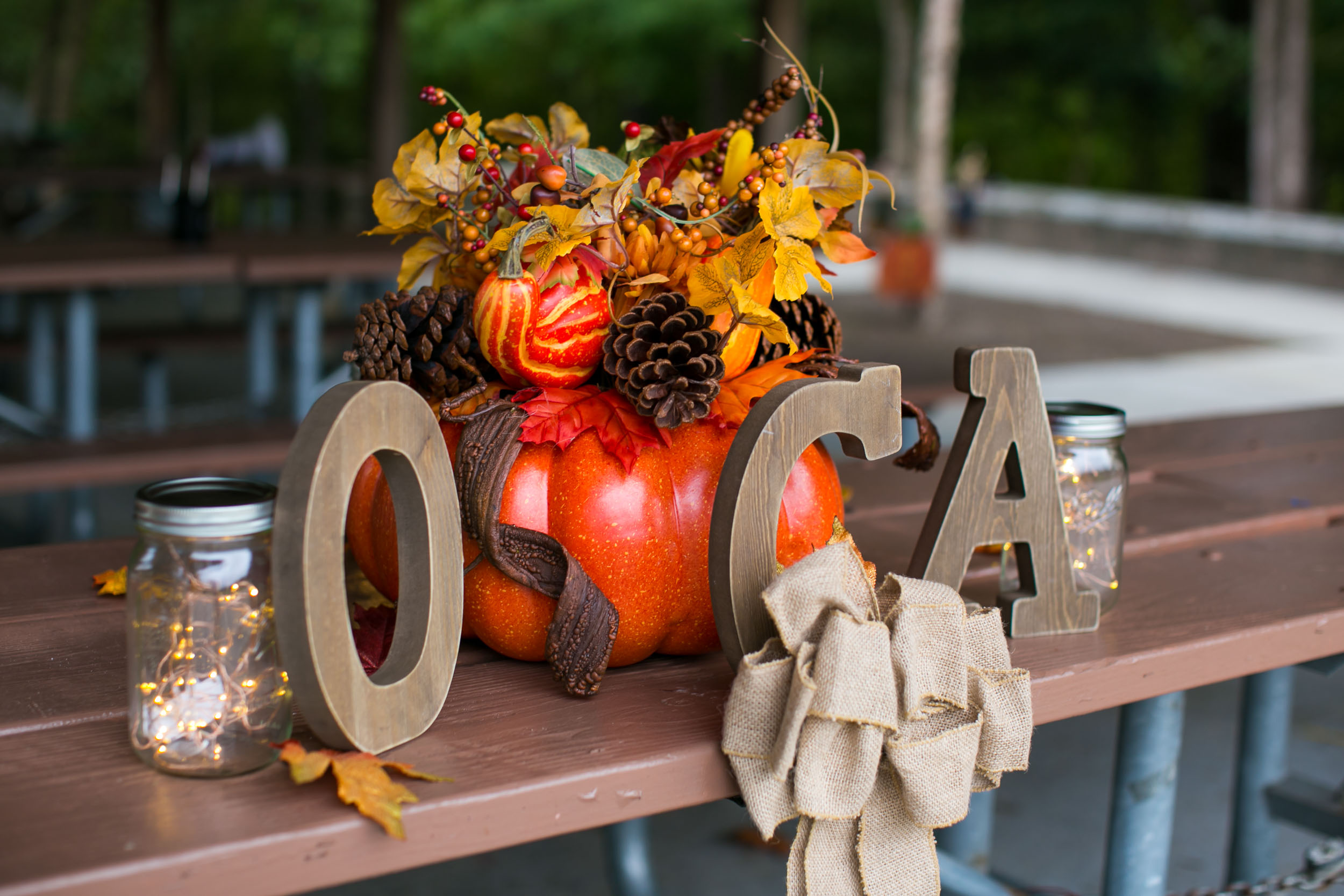 Raleigh Family Photographer | G. Lin Photography | OCA letters on table