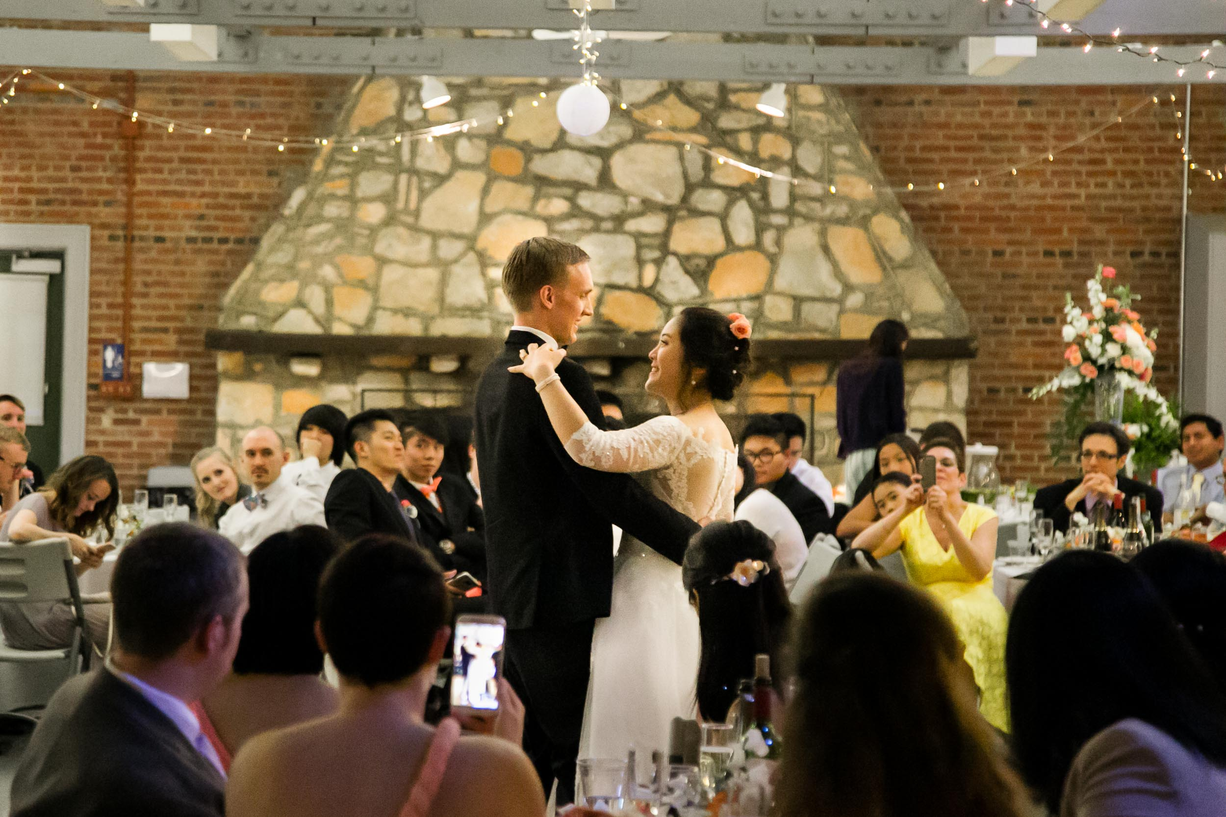 Raleigh Wedding Photographer   G. Lin Photography   Bride and groom dancing