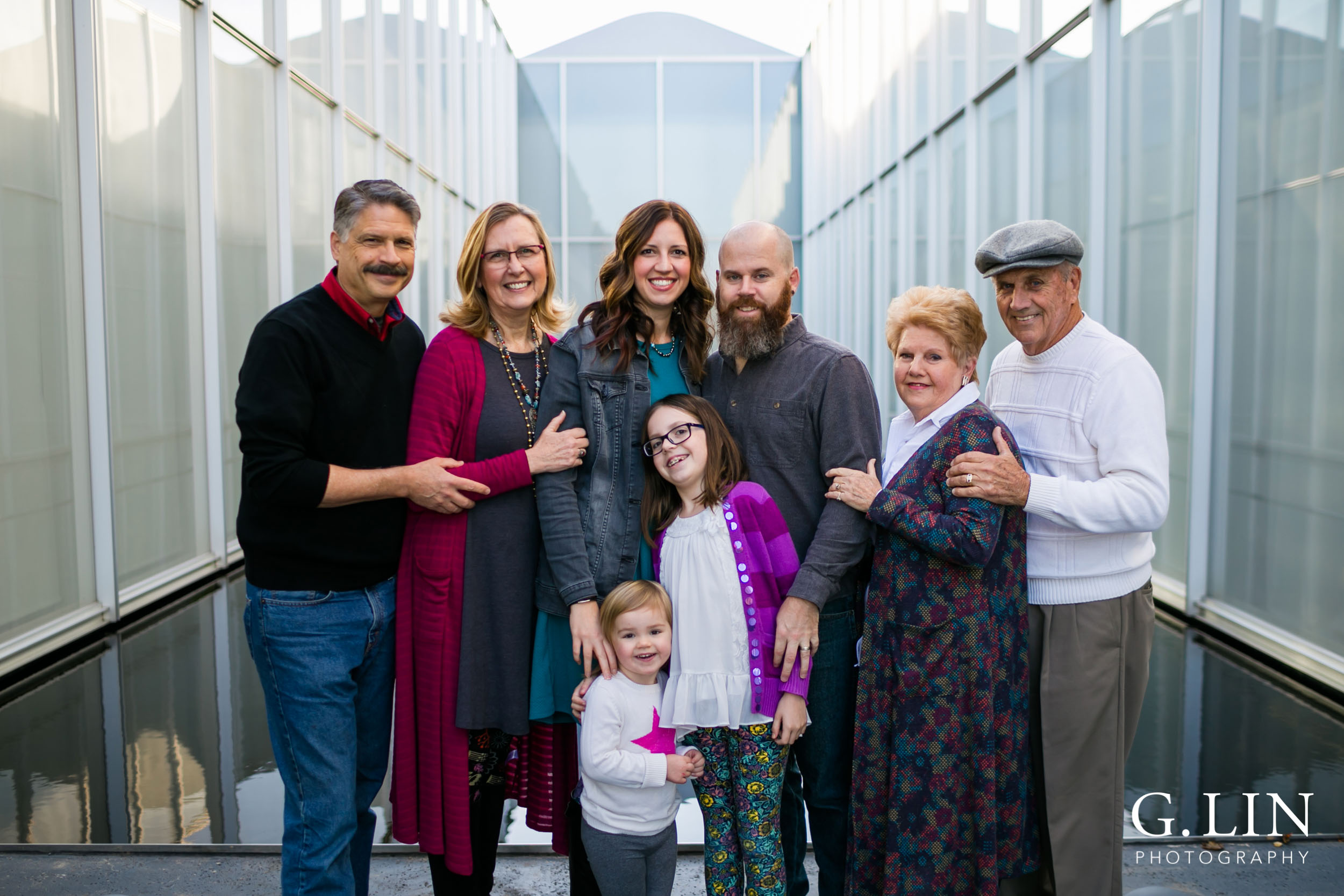 NC Museum of Art Family Photo | By G. Lin Photography | Raleigh Family Photographer