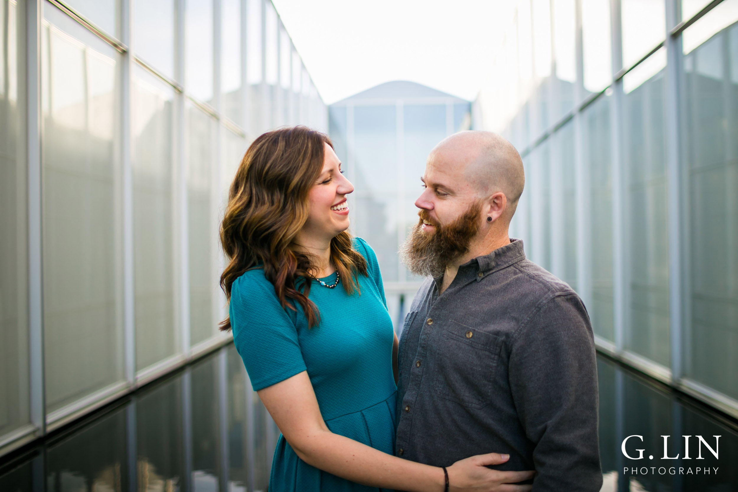 Raleigh Family Photographer | G. Lin Photography |  Modern photo of couple