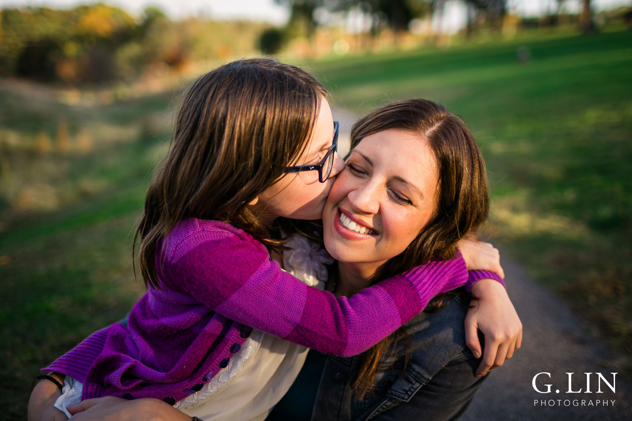 Raleigh Family Photographer | G. Lin Photography | Mother and daughter, sweet moment