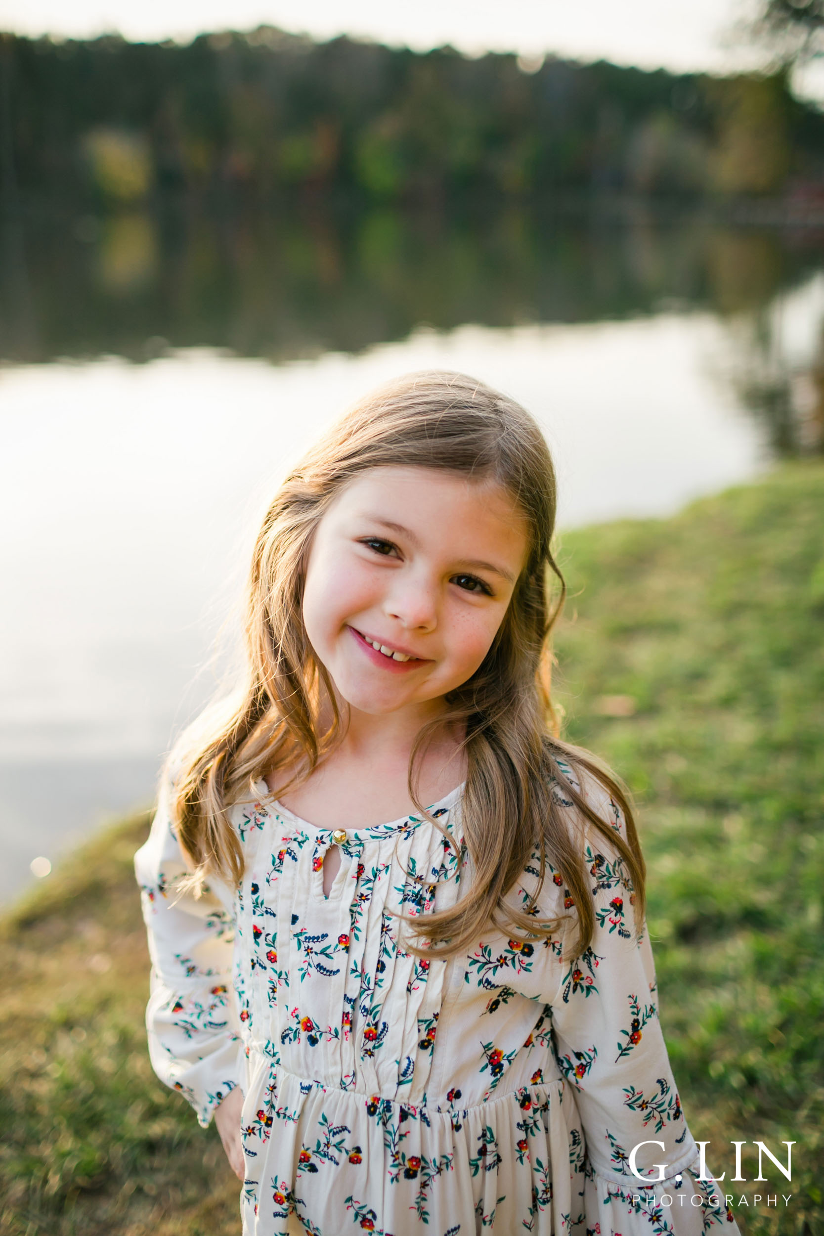 Raleigh Family Photographer | G. Lin Photography | children's photo of second daughter