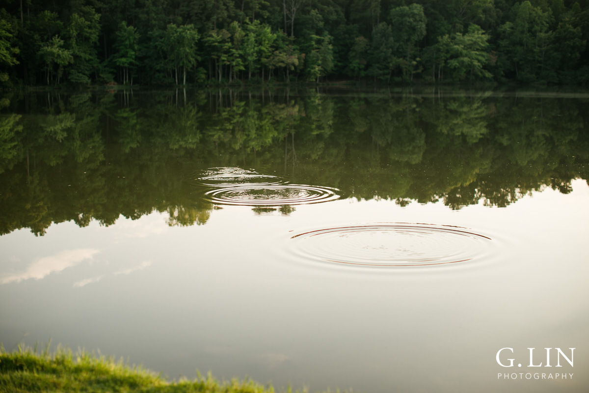 Raleigh Family Photographer | By G. Lin Photography | Ripples in the lake