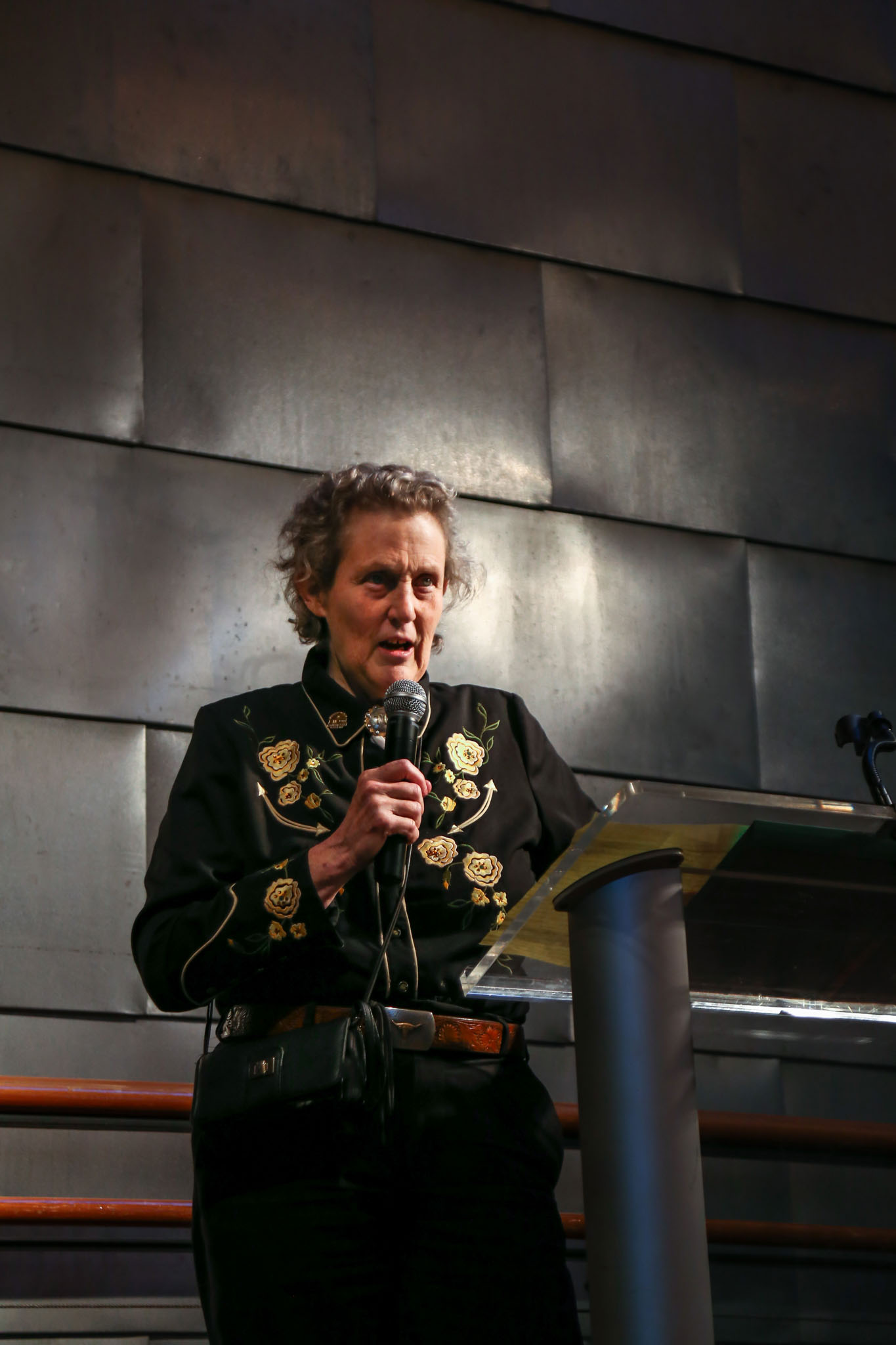 Temple Grandin speaking at Catwalk to Camp | Durham Event Photographer | By G. Lin Photography