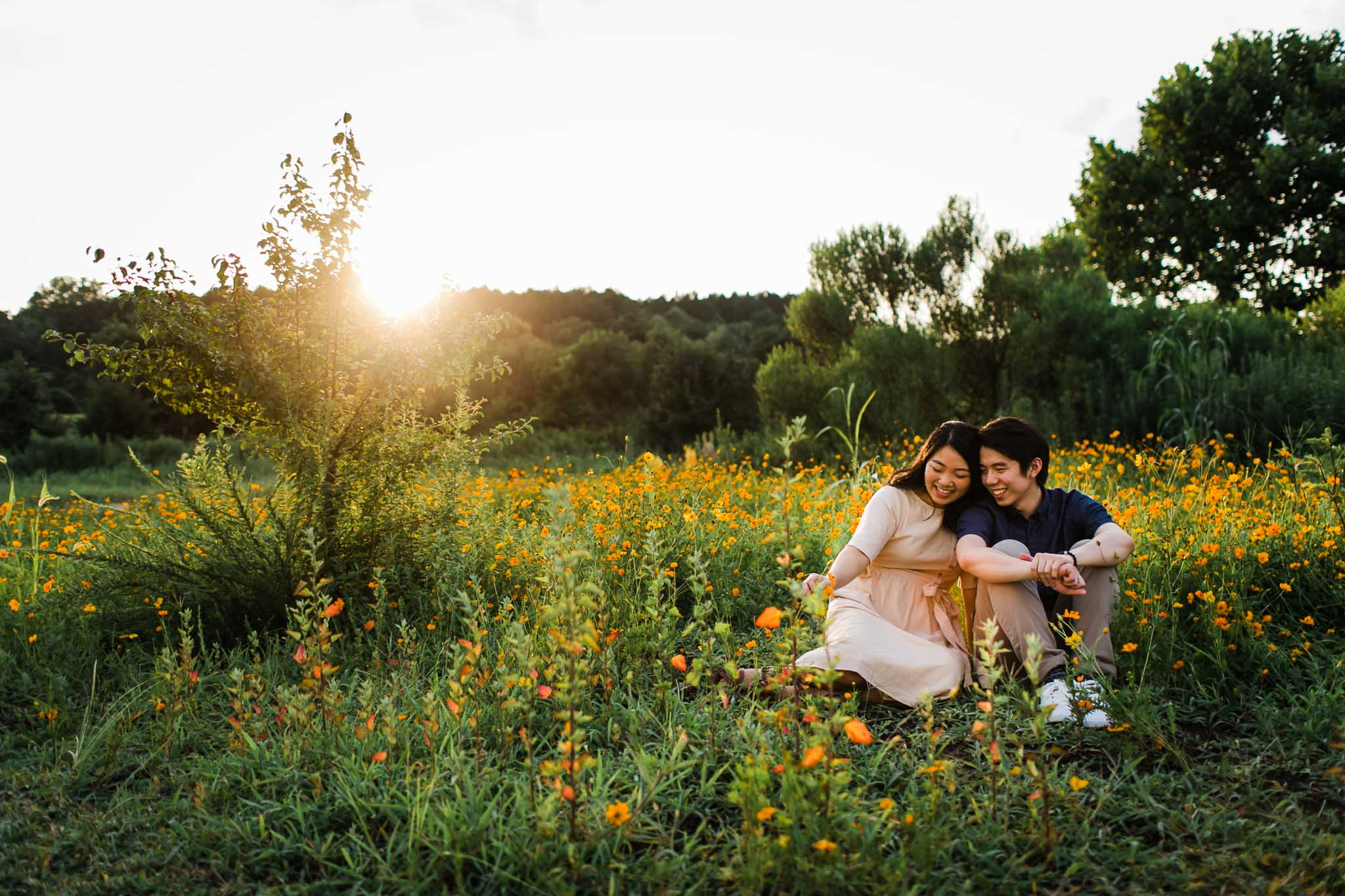 Dorothea Dix Park | Engagement Session | Raleigh NC | By G. Lin Photography