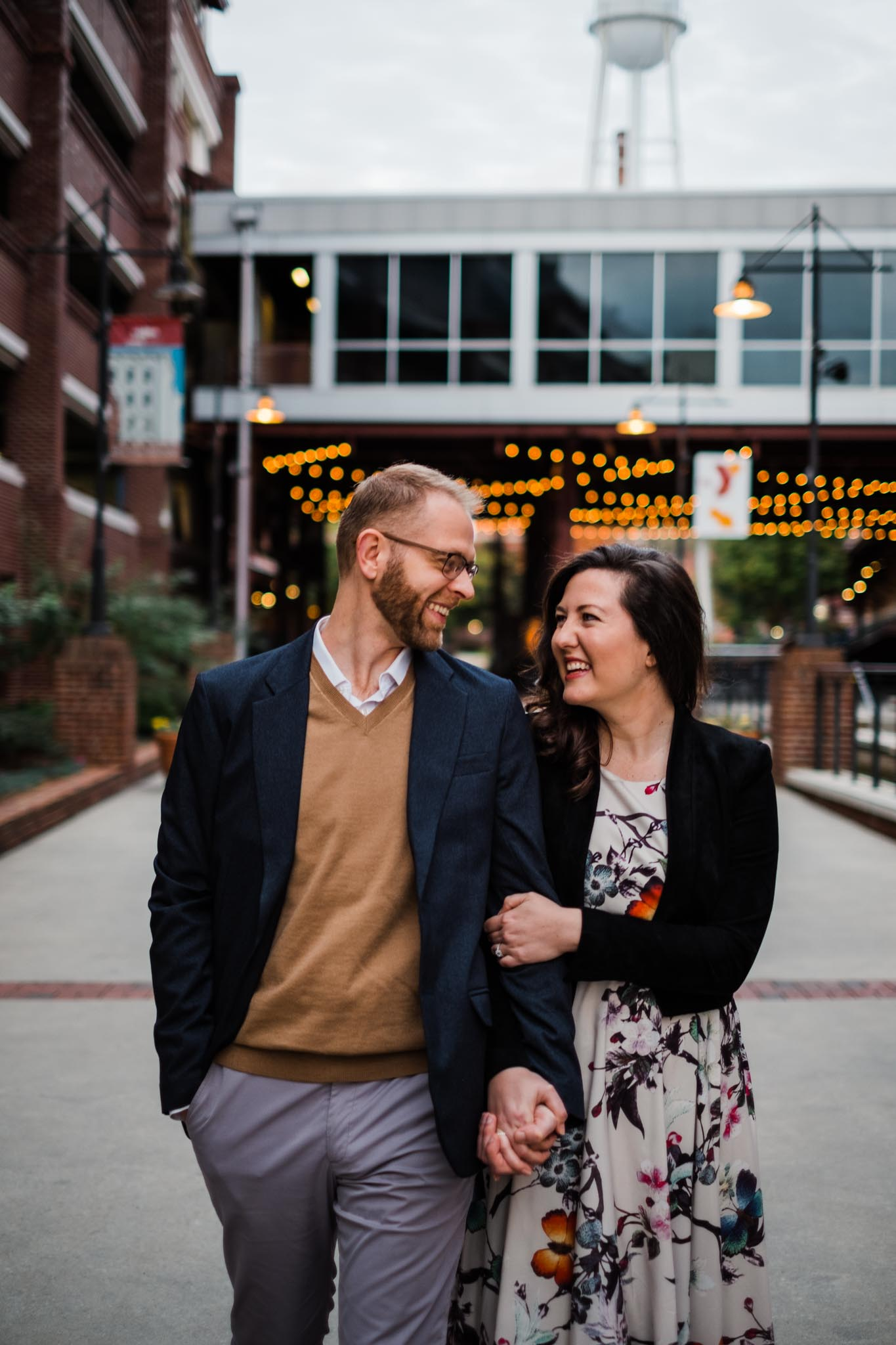 Couple Portrait Session at American Tobacco Campus | Durham NC Photographer | By G. Lin Photography