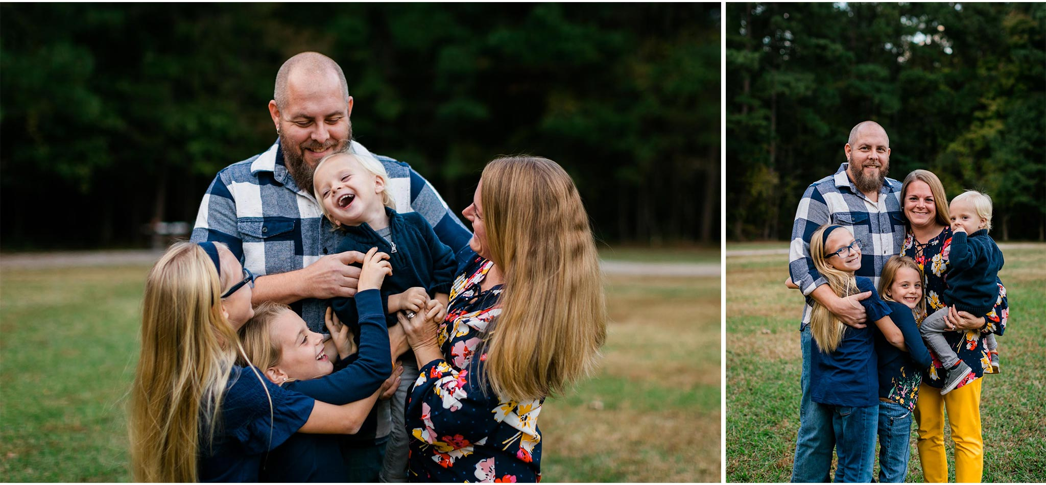 Umstead Park Family Photo Shoot in Fall | Raleigh Family Photographer | By G. Lin Photography