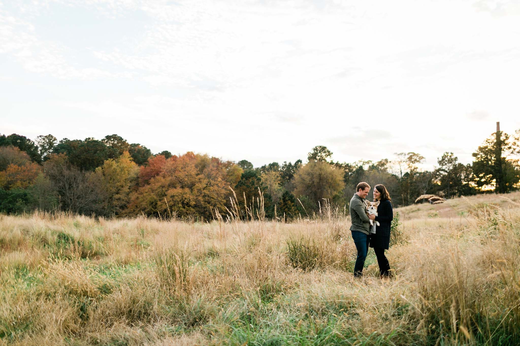 Family portrait with open field at NCMA | Raleigh Family Photographer | By G. Lin Photography