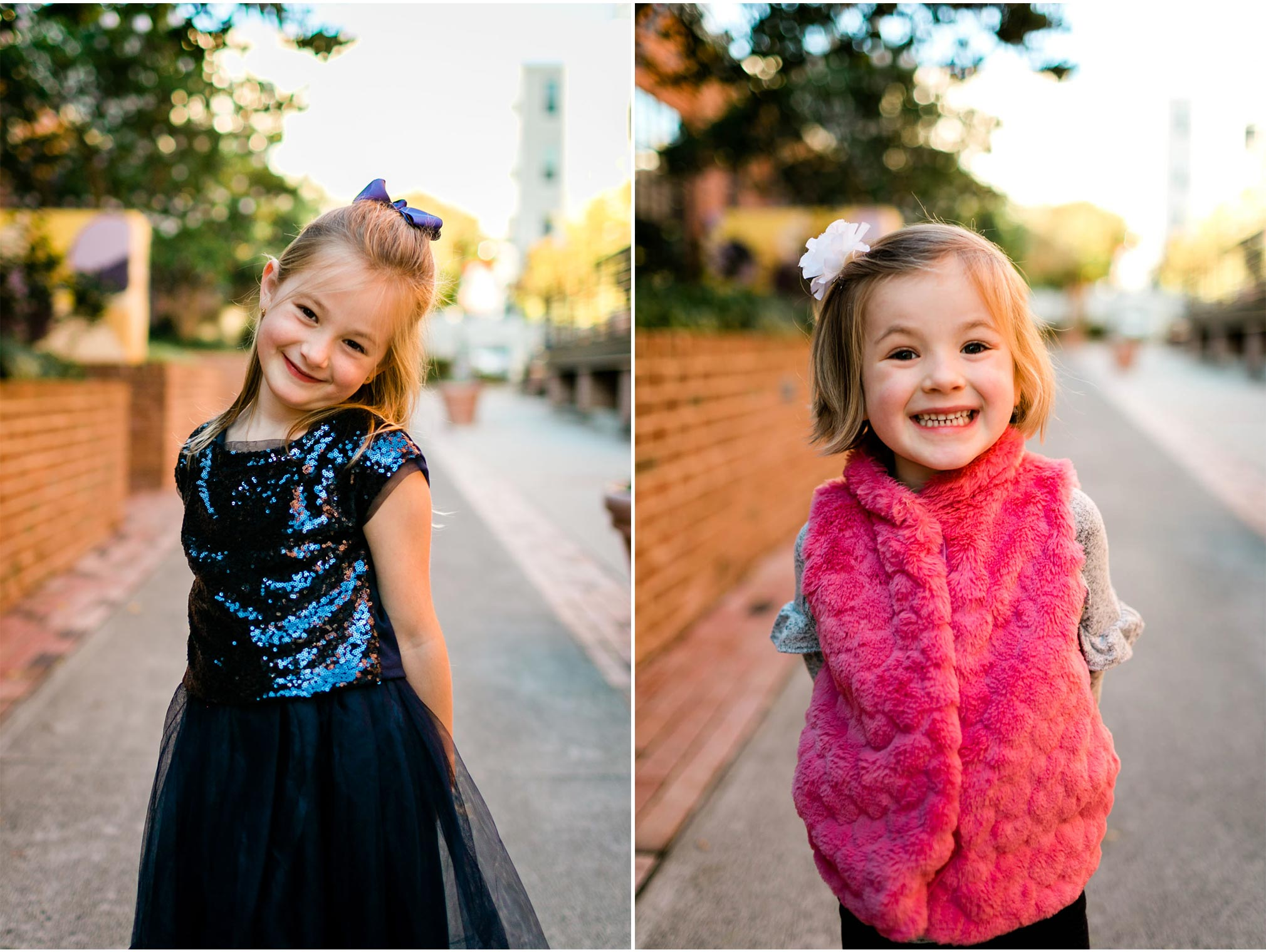 Cute candid portraits of children | Durham Family Photographer | American Tobacco Campus | By G. Lin Photography