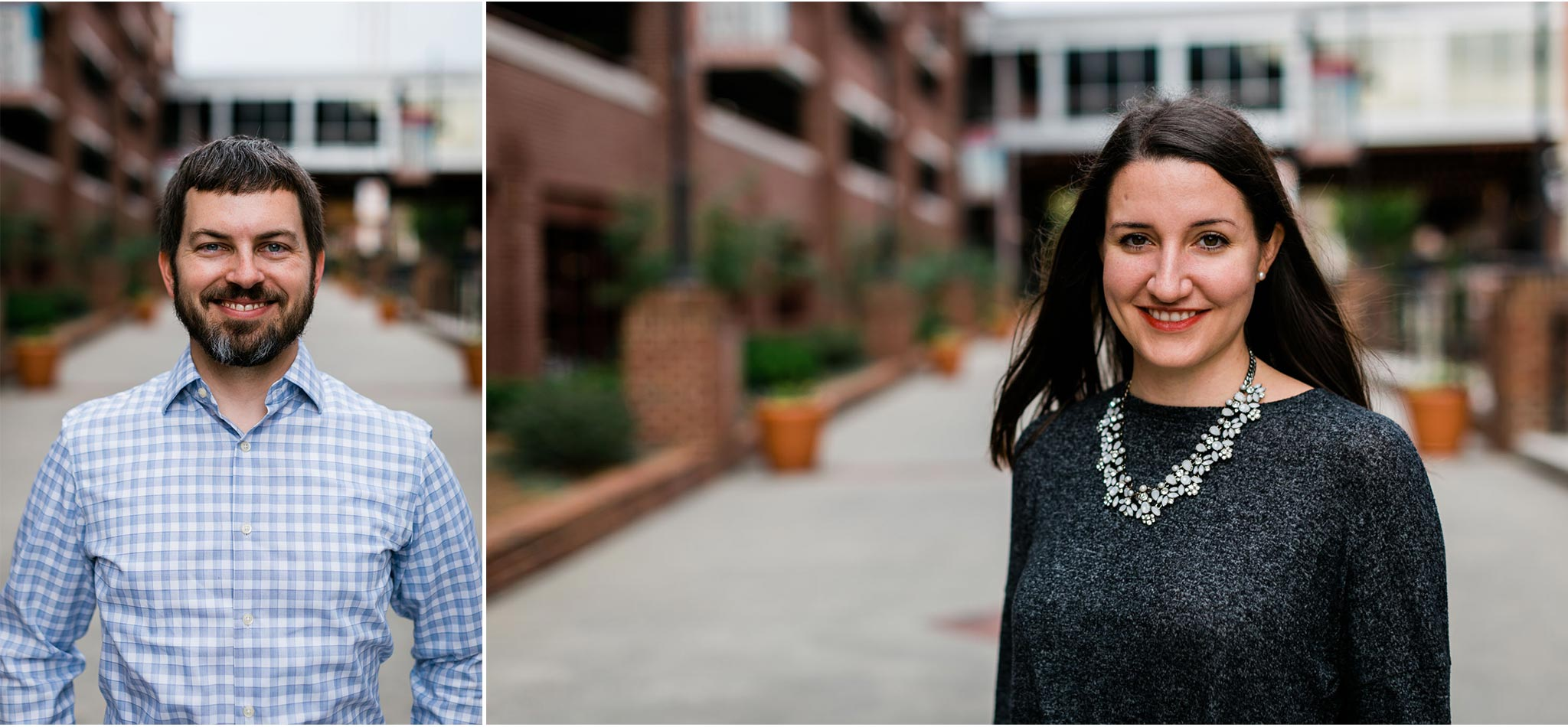 Headshots of couple | Durham Photographer | By G. Lin Photography