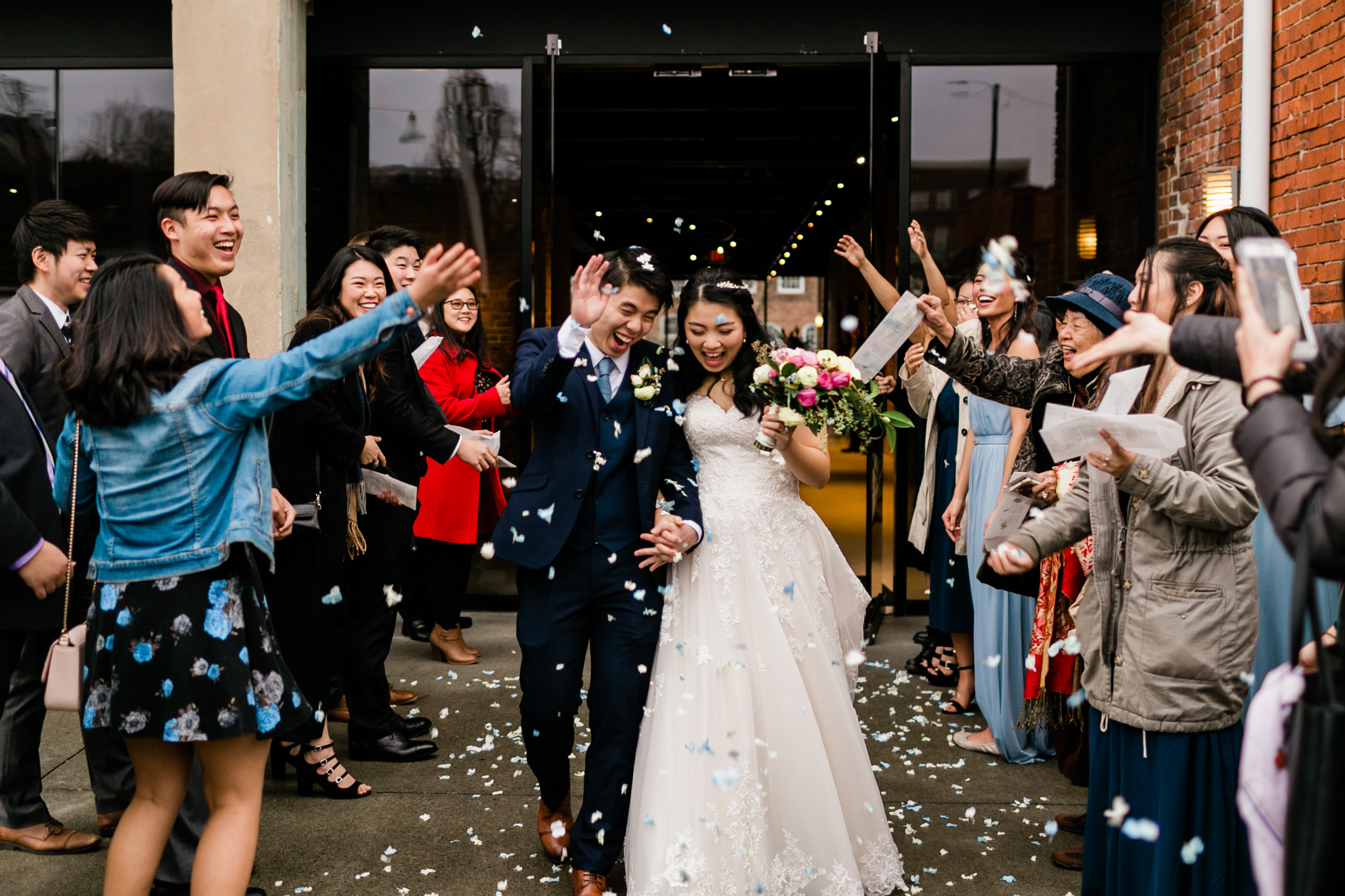 Winter Wedding at The Cotton Room | Durham Wedding Photographer | By G. Lin Photography