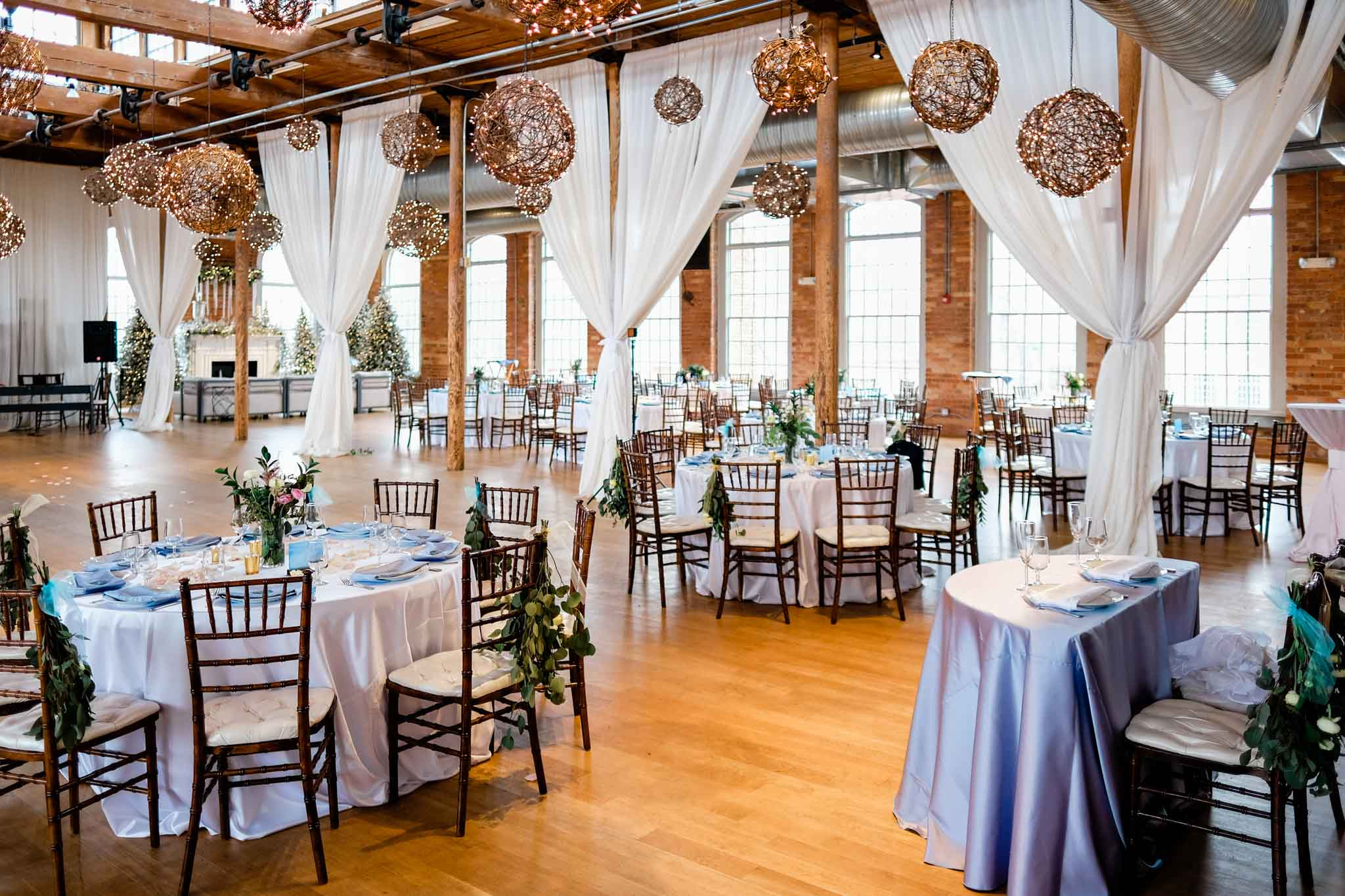 Romantic wedding reception at The Cotton Room | Durham Wedding Photographer | By G. Lin Photography