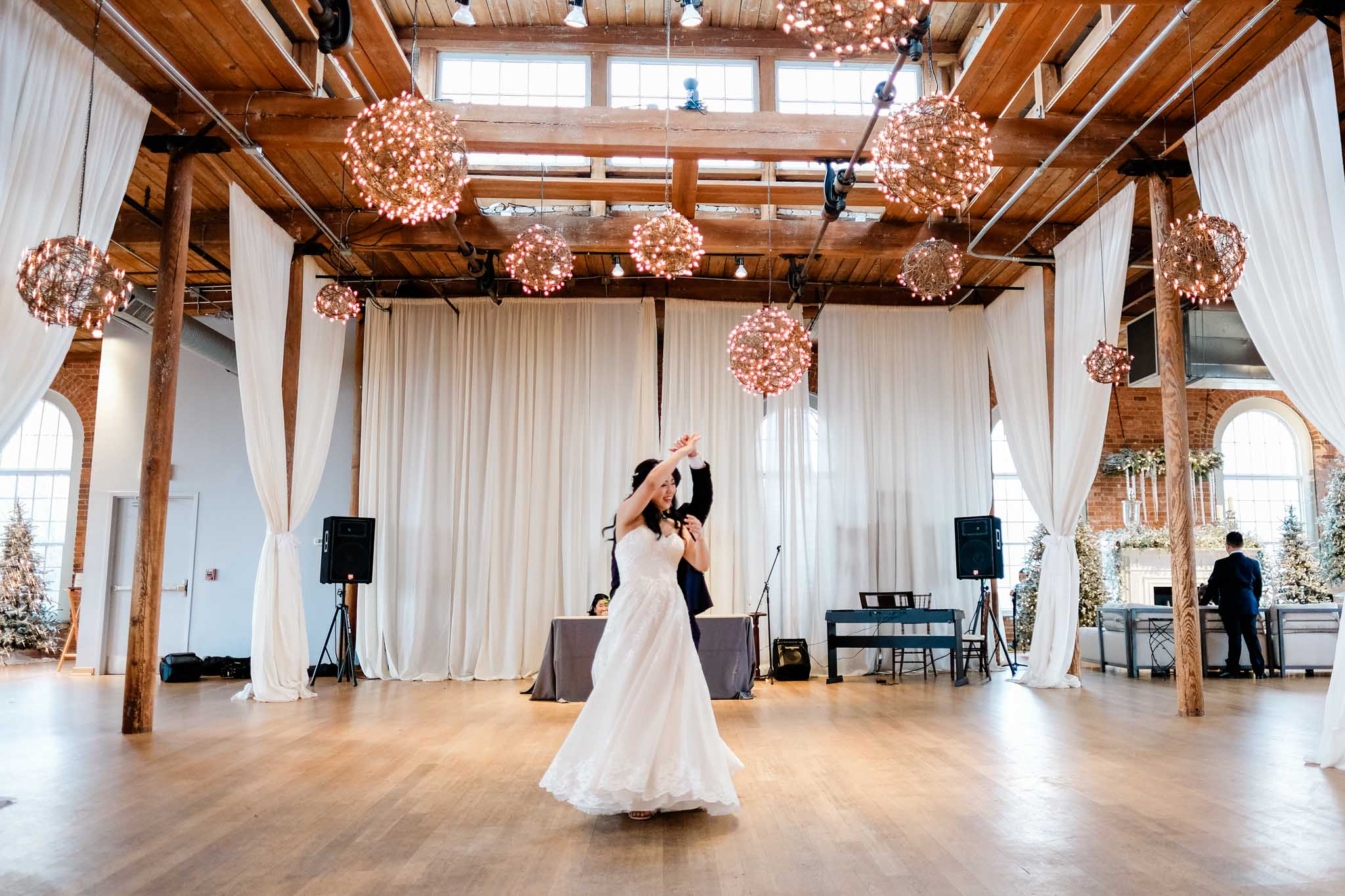 First Dance at The Cotton Room | Durham Wedding Photographer | By G. Lin Photography