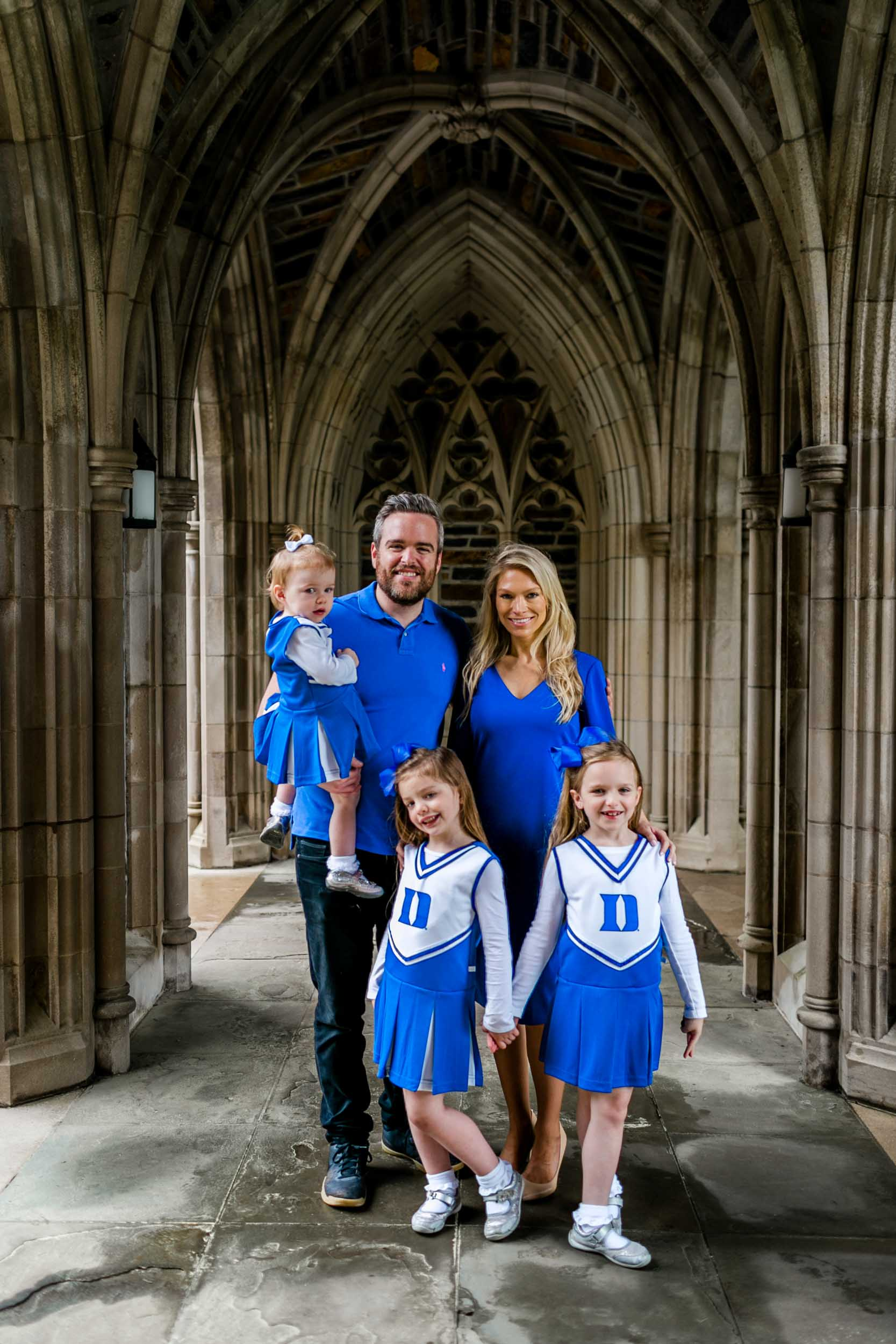 Duke Alumni Weekend Family Photo Session | Durham Photographer | By G. Lin Photography