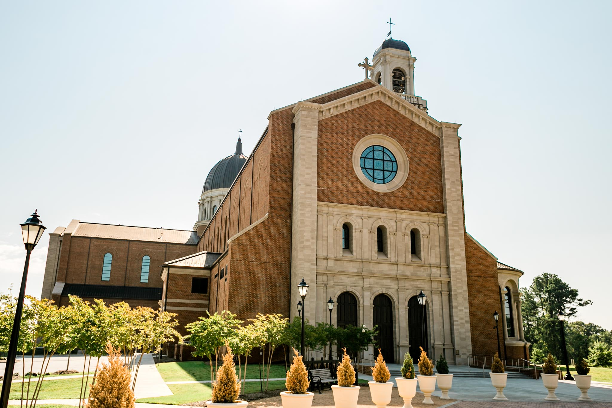 Holy Jesus Name Cathedral in Raleigh | Raleigh Wedding Photographer | By G. Lin Photography