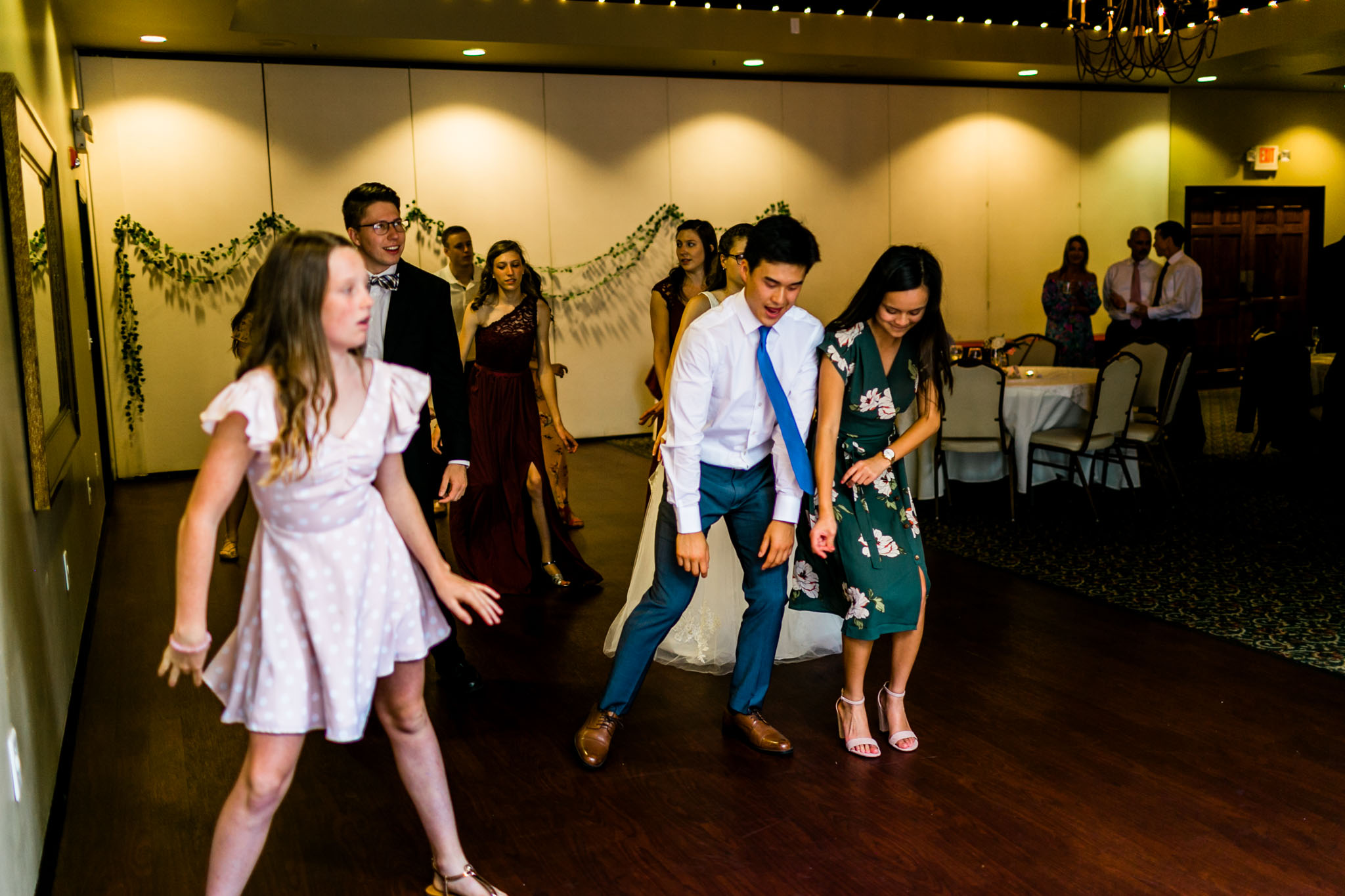 Wedding dancing at Royal Banquet Conference Center | Raleigh Wedding Photographer | By G. Lin Photography