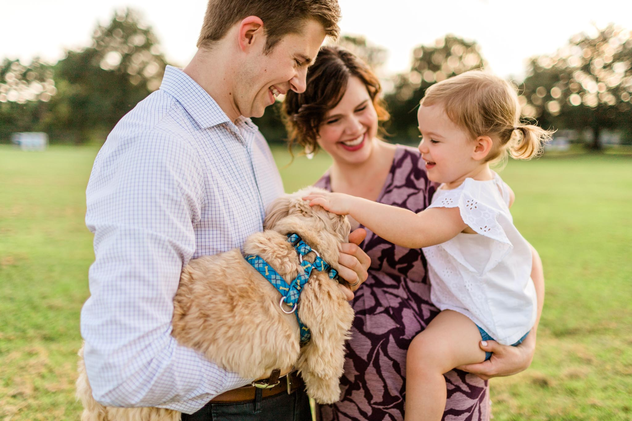 Raleigh Family Photographer at Dix Park | By G. Lin Photography
