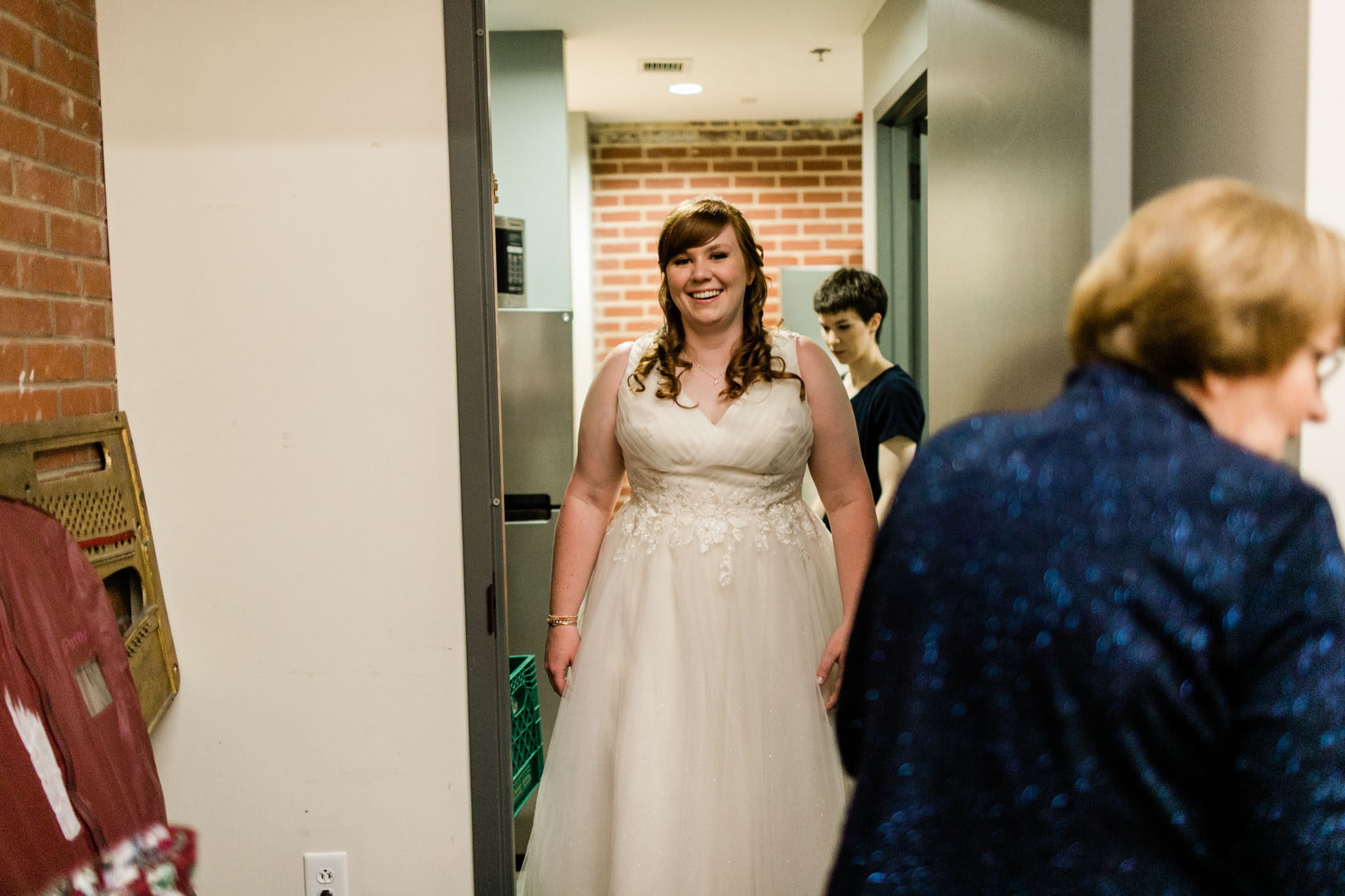 Haw River Ballroom Wedding | Durham Photographer | By G. Lin Photography | Bride in wedding dress