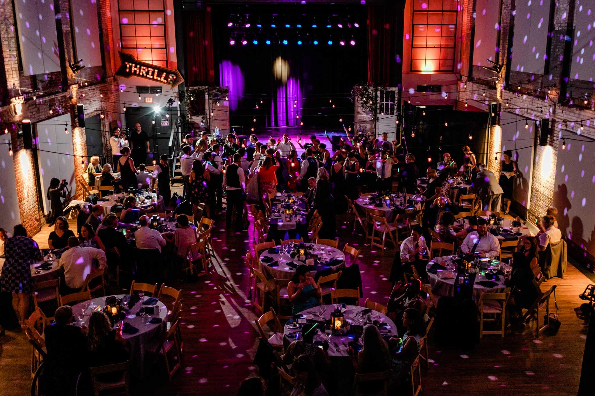 Dancing during reception   Haw River Ballroom Wedding   Durham Wedding Photographer   By G. Lin Photography