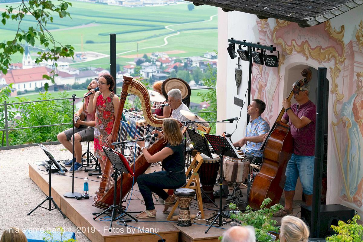 Der open air Teil unseres Konzertes