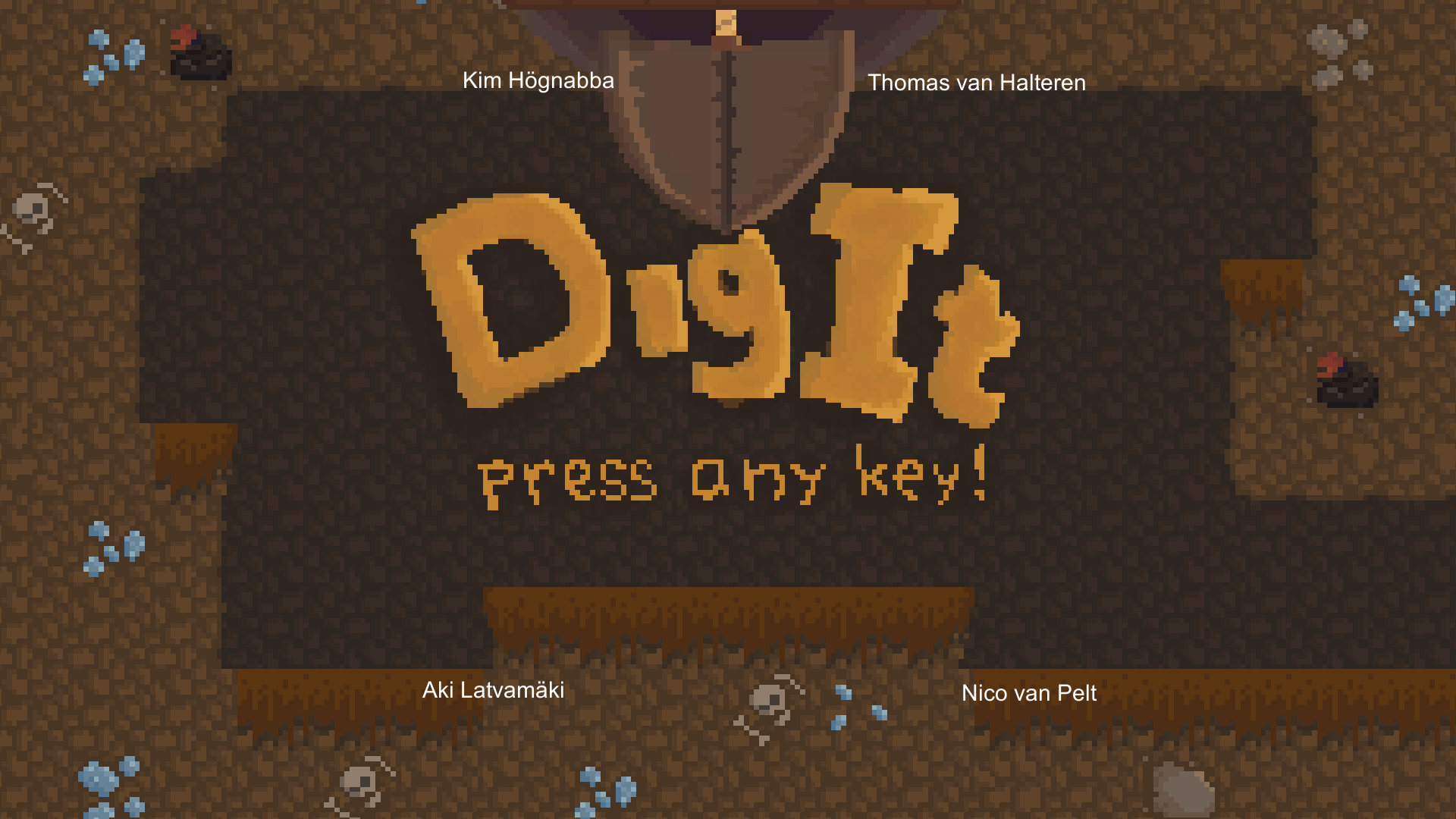 DIGIT - Start Menu SCreen