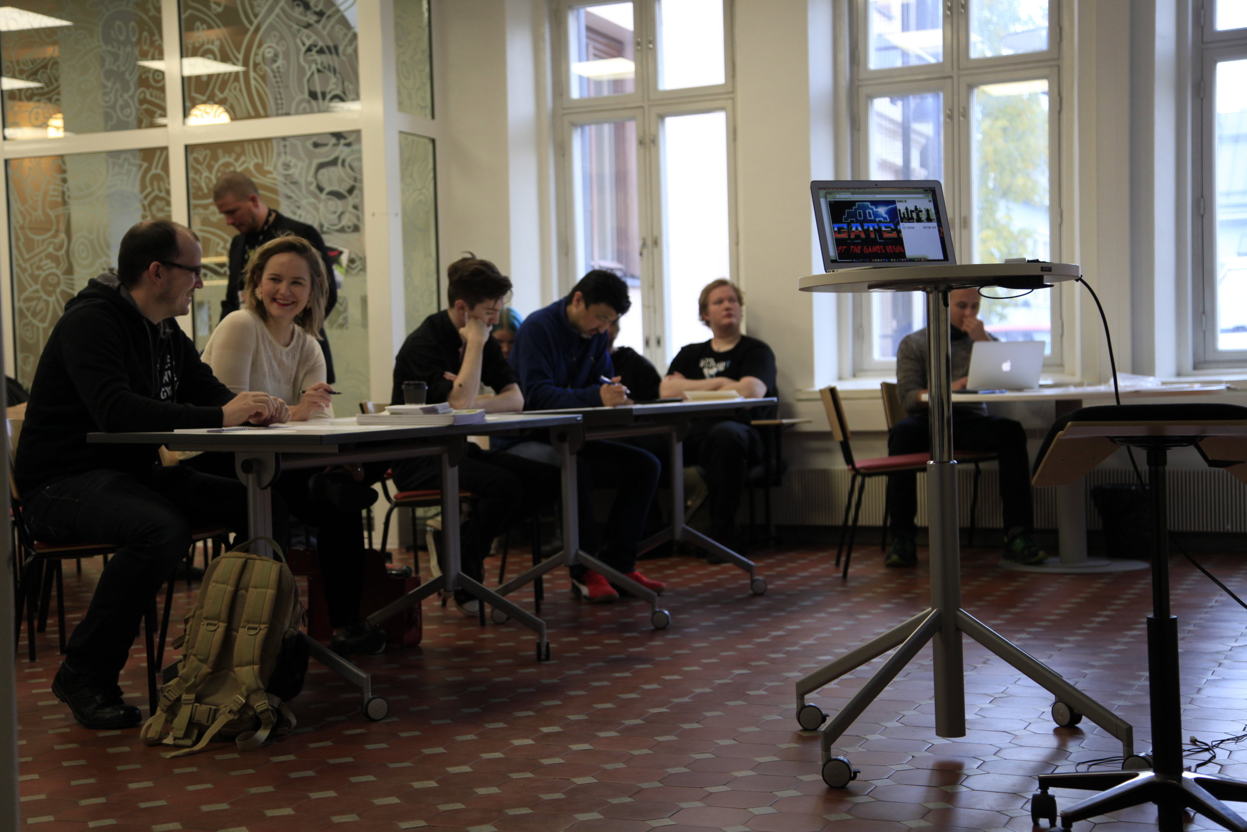 We had an awesome Jury made out of Chris,Mitsutaka Mitch Yasuda,Anne Ryynänen,Ville Autio and Martin Jaššo.