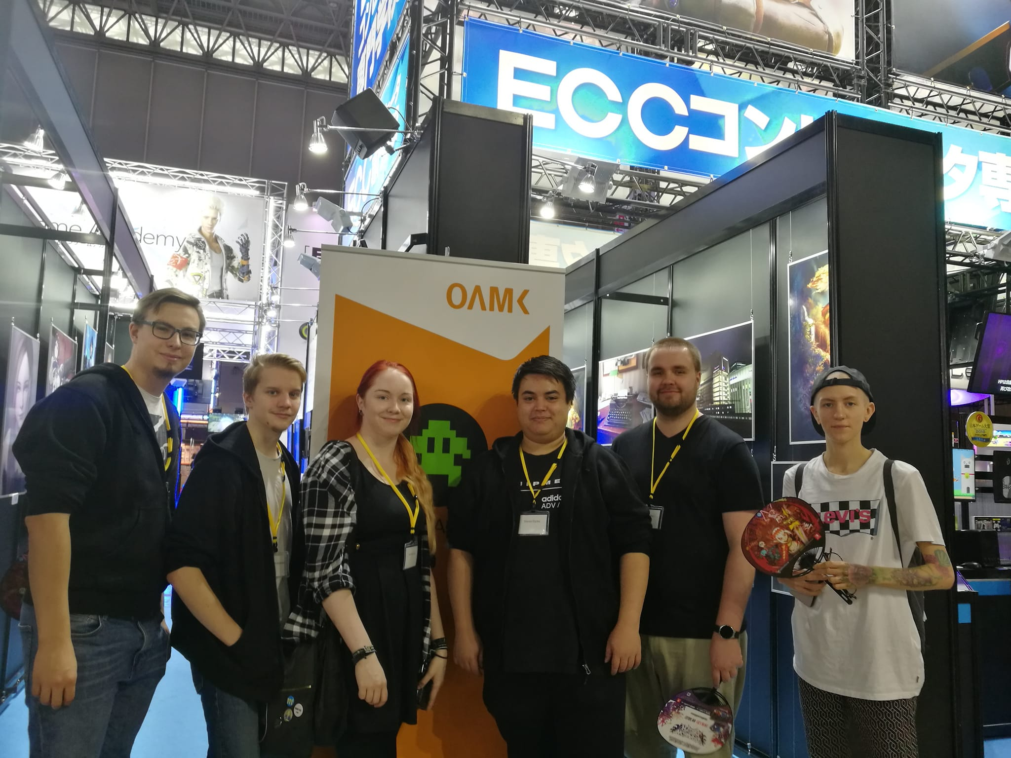 SURMA GAMES AND RAINFALL GAMES AT TOKYO GAME SHOW GETTING READY FOR THE MASSES