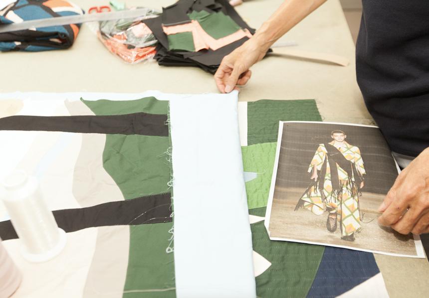 Pattern making process 2