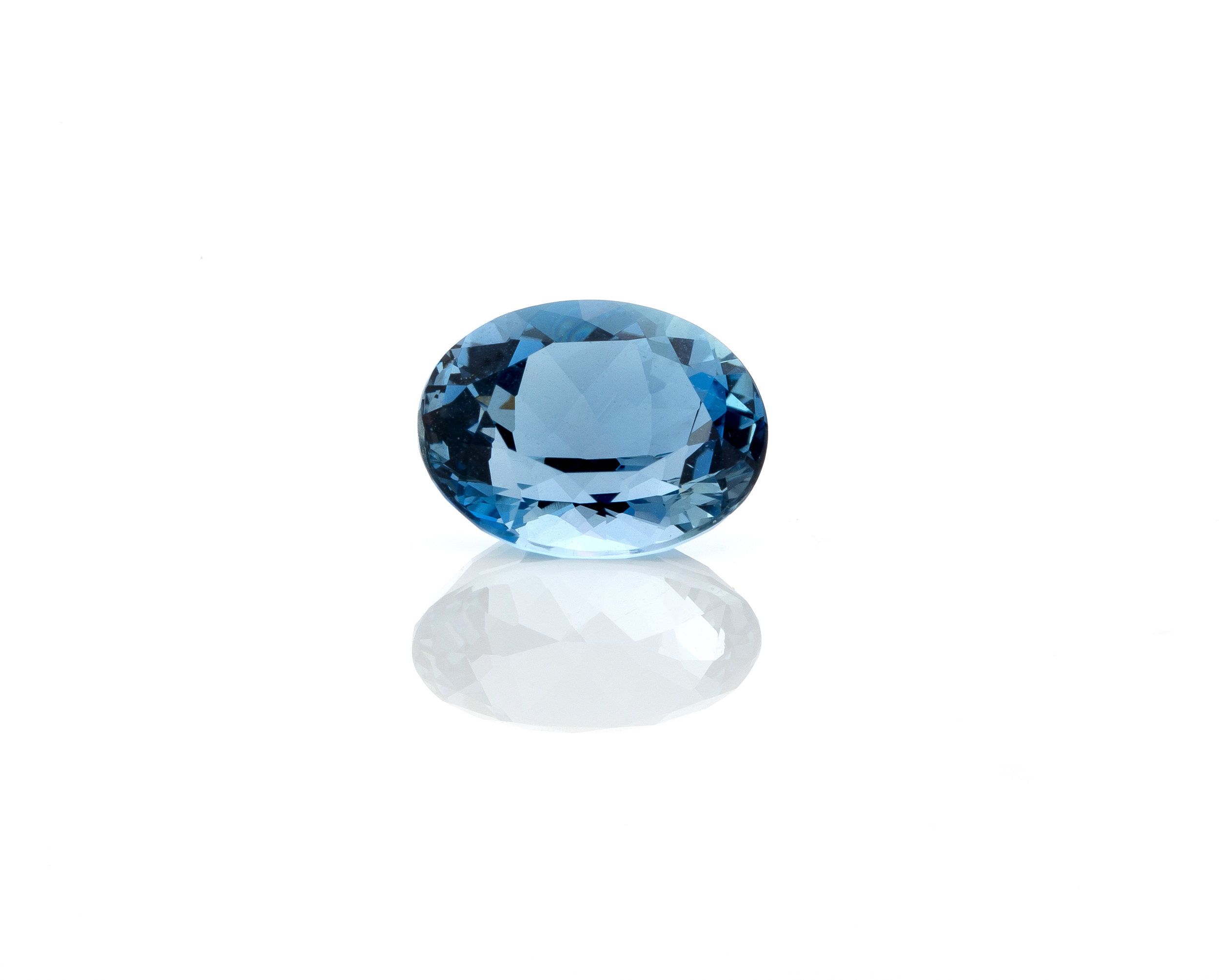 """One of the rarest and most expensive varieties of aquamarine are gemstones with a deeply saturated blue , color beryl known as """"Santa Maria."""" They are named in honor of Santa Maria de Itabira, which is the site in Brazil where the first such stones were discovered in the 1950s."""