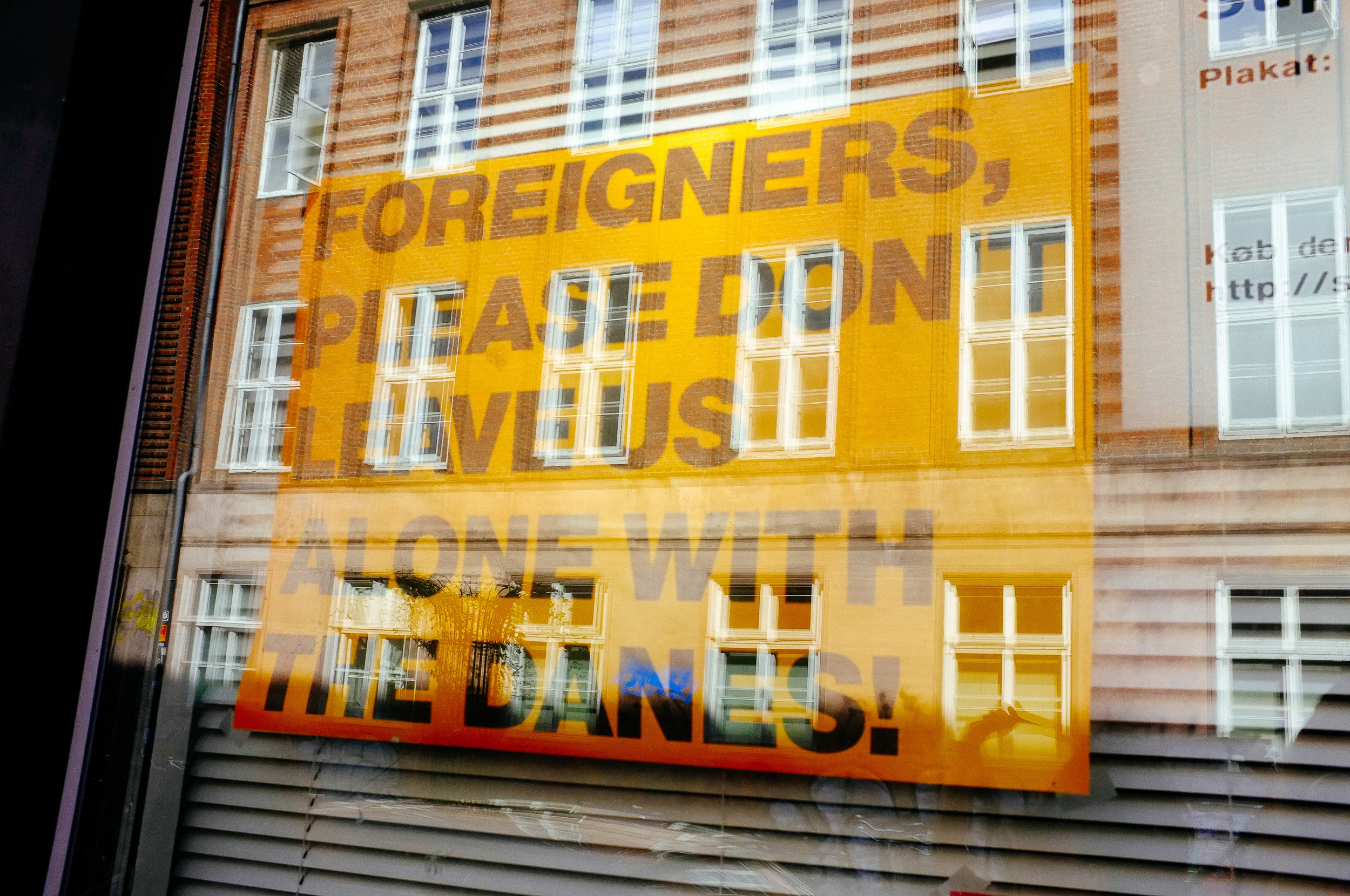Message to the Foreigners, Copenhagen