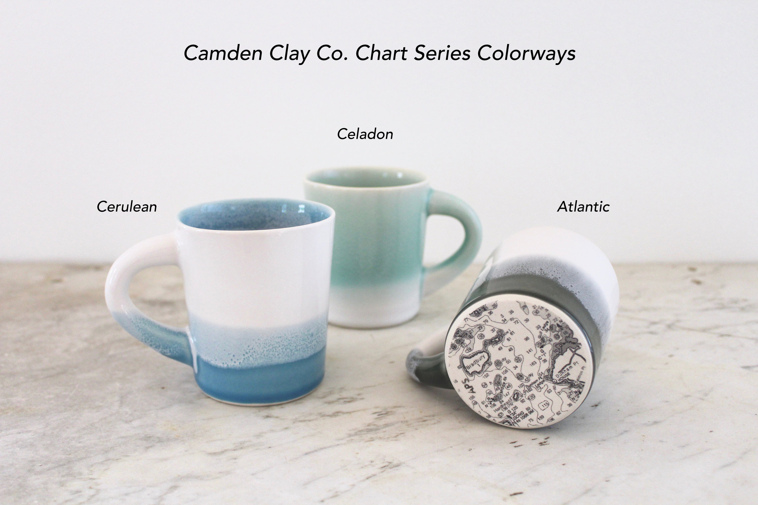 Camden Clay Co. Chart Series Colorways