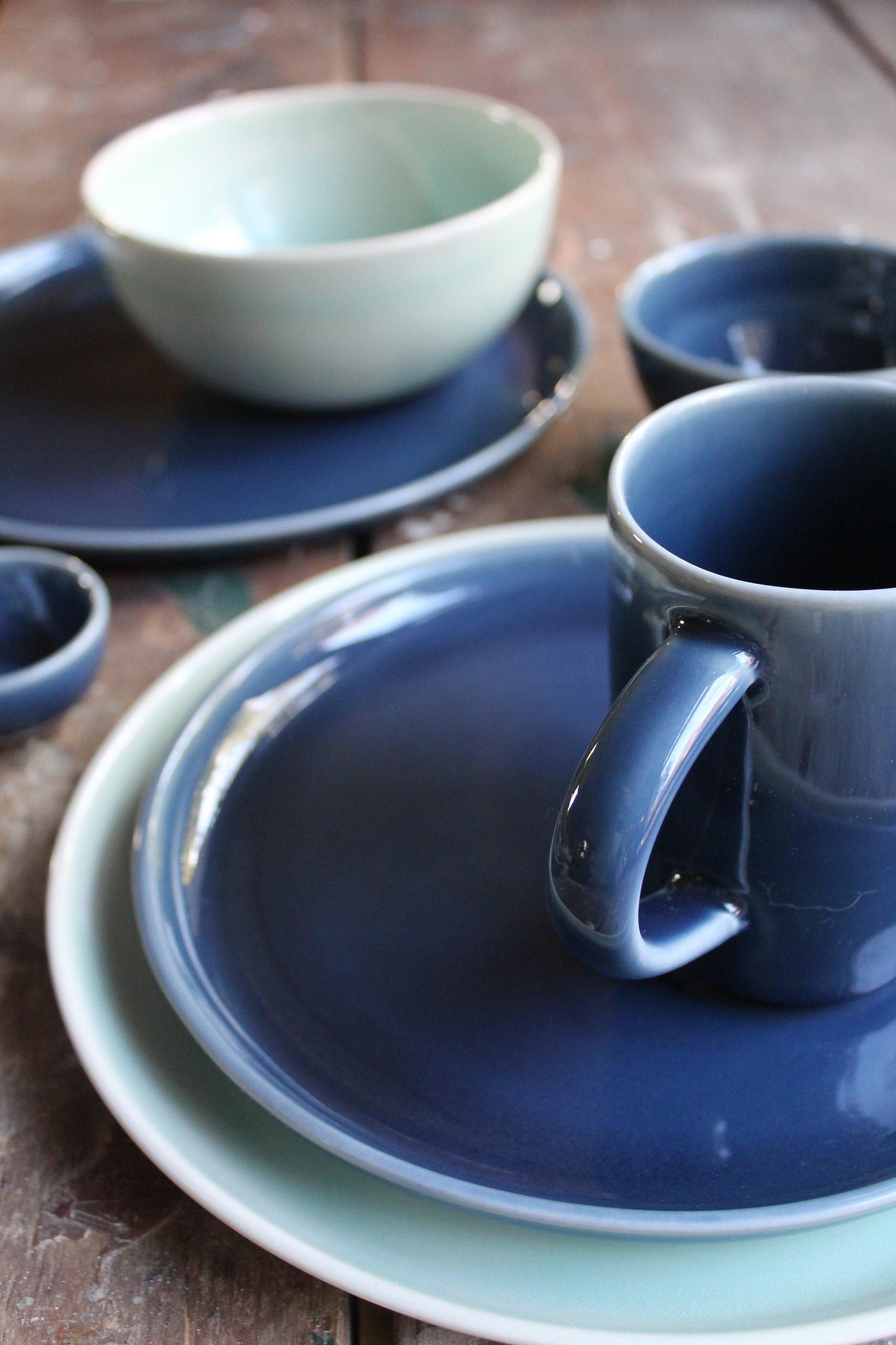 Wild Blue Glaze Camden Clay Co