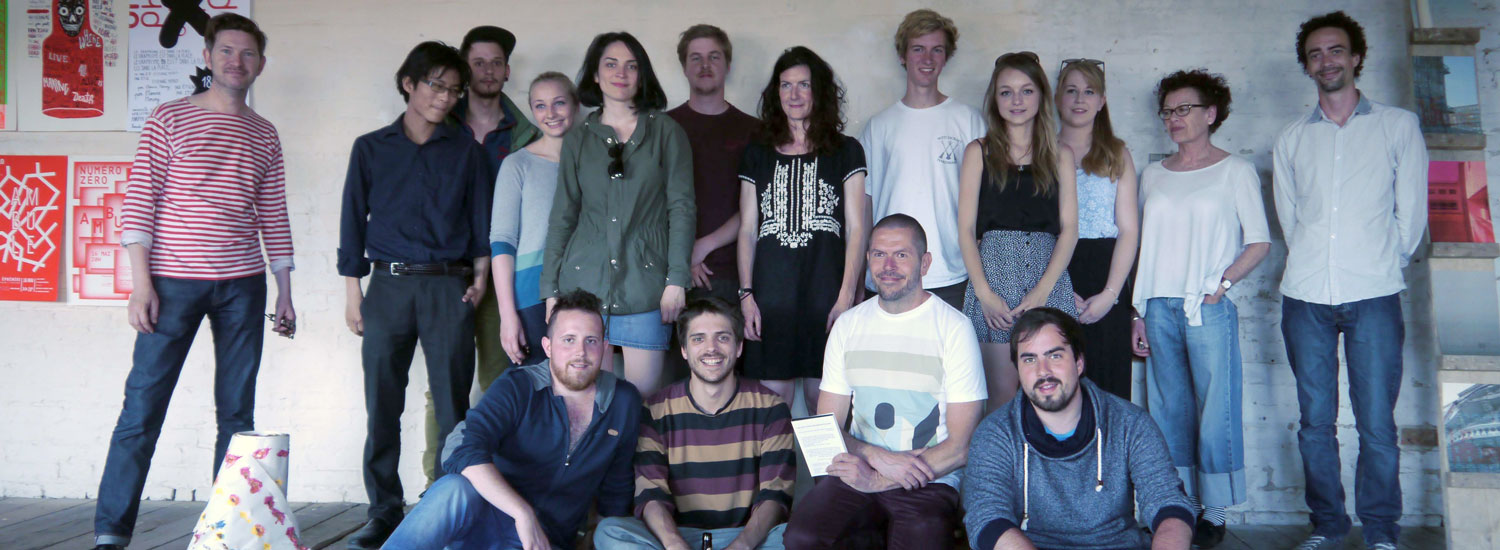 A Sense of Place  - Workshop collaboration between UCA and ESADHaR - September 2014