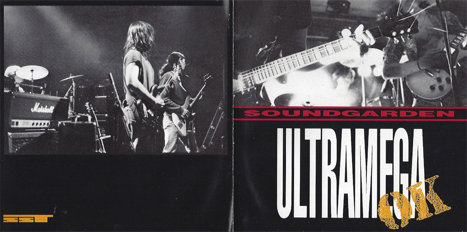 Ultramega OK  Soundgarden's first full-length studio album.  Click or tap to purchase the March 10th 2017 Sub Pop re-issue on iTunes