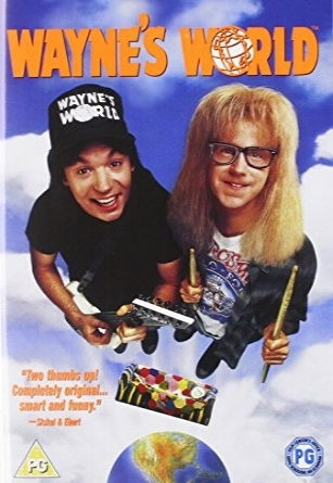 1992 Wayne's World Loud Love
