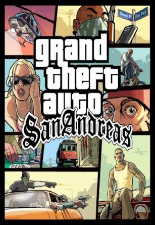2004 Grand Theft Auto: San Andreas  Rusty Cage